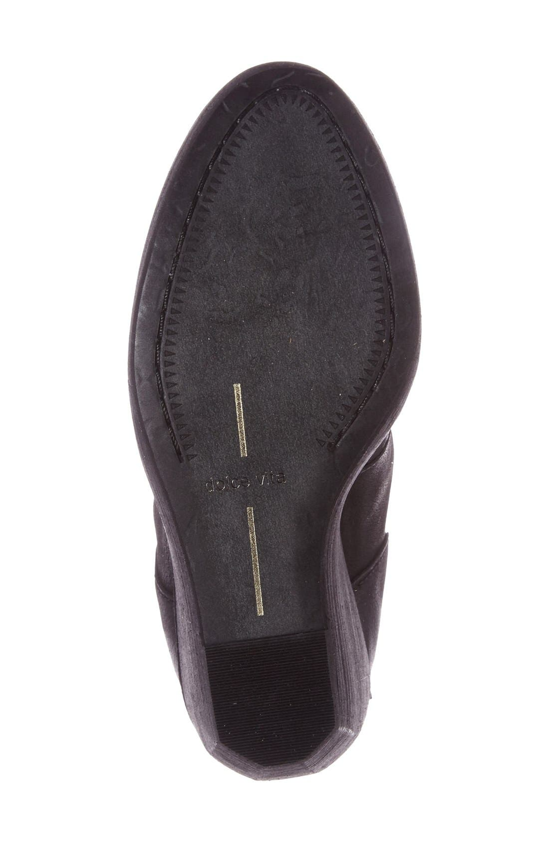 Alternate Image 4  - Dolce Vita Caden Zip Wedge Bootie (Women)