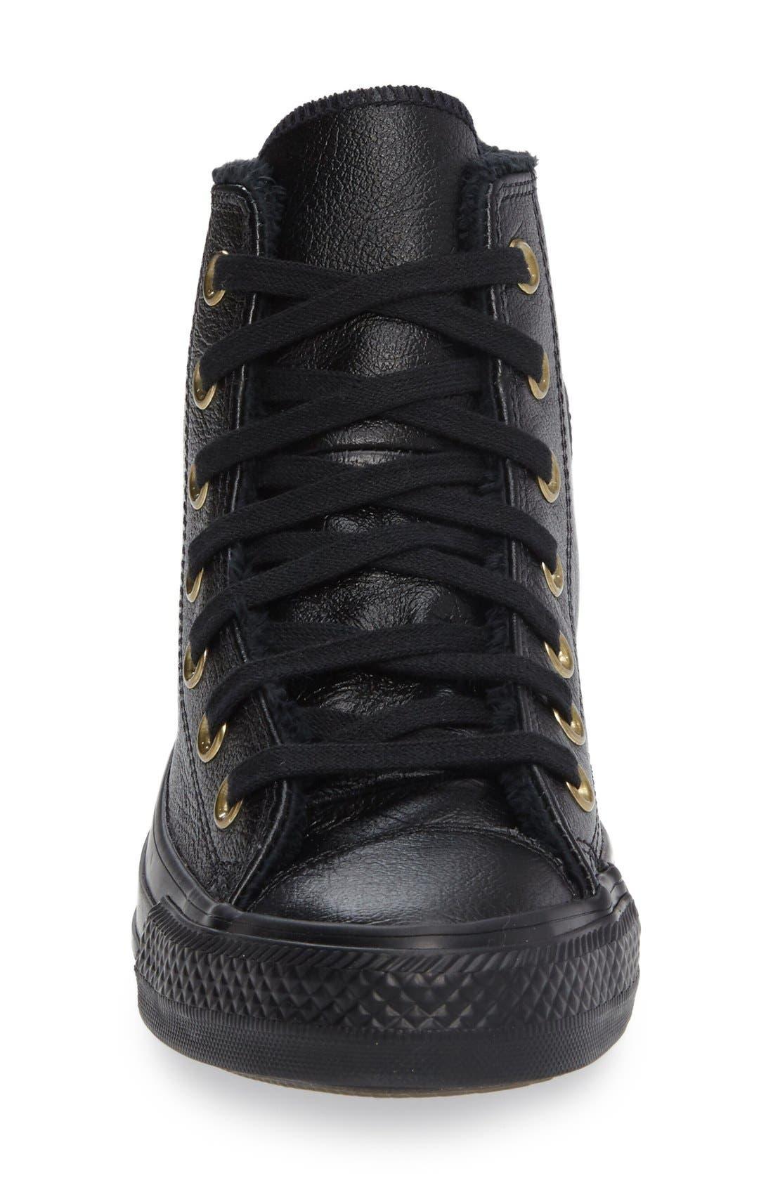 Alternate Image 3  - Converse Chuck Taylor® All Star® Faux Fur High Top Sneaker (Women)