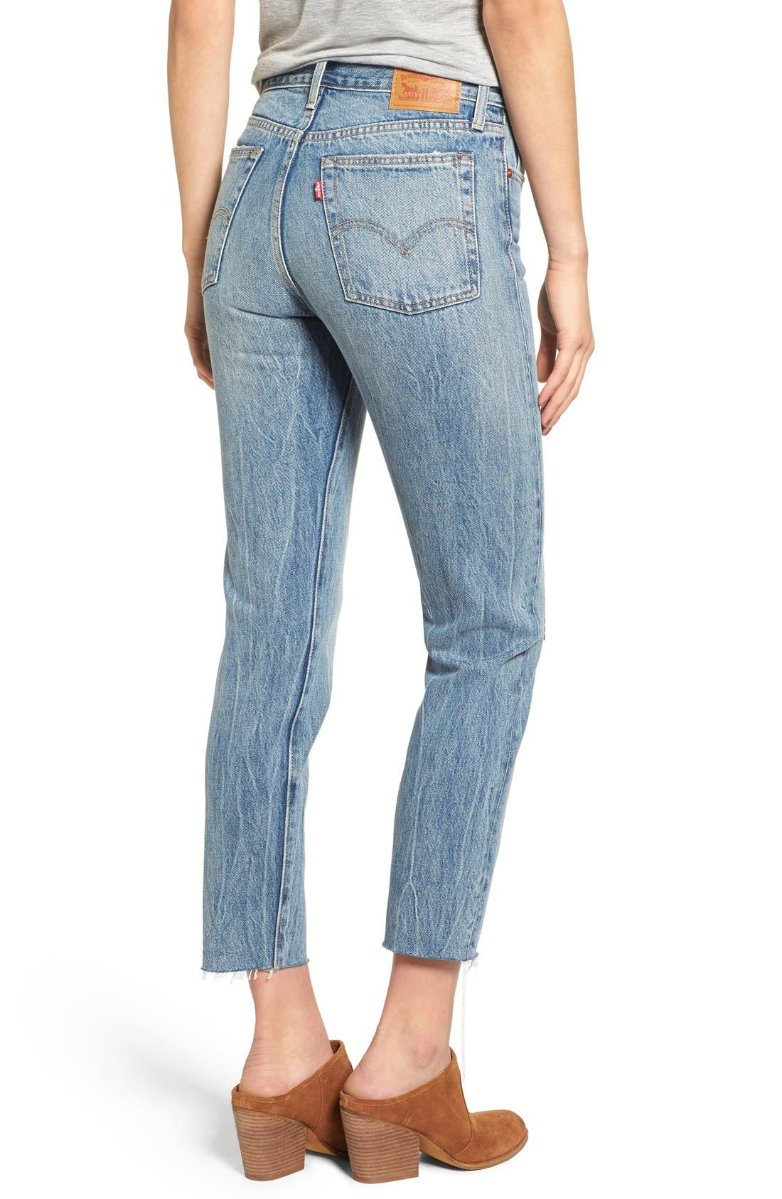 Alternate Image 2  - Levi's® The Wedgie Icon Fit Jeans
