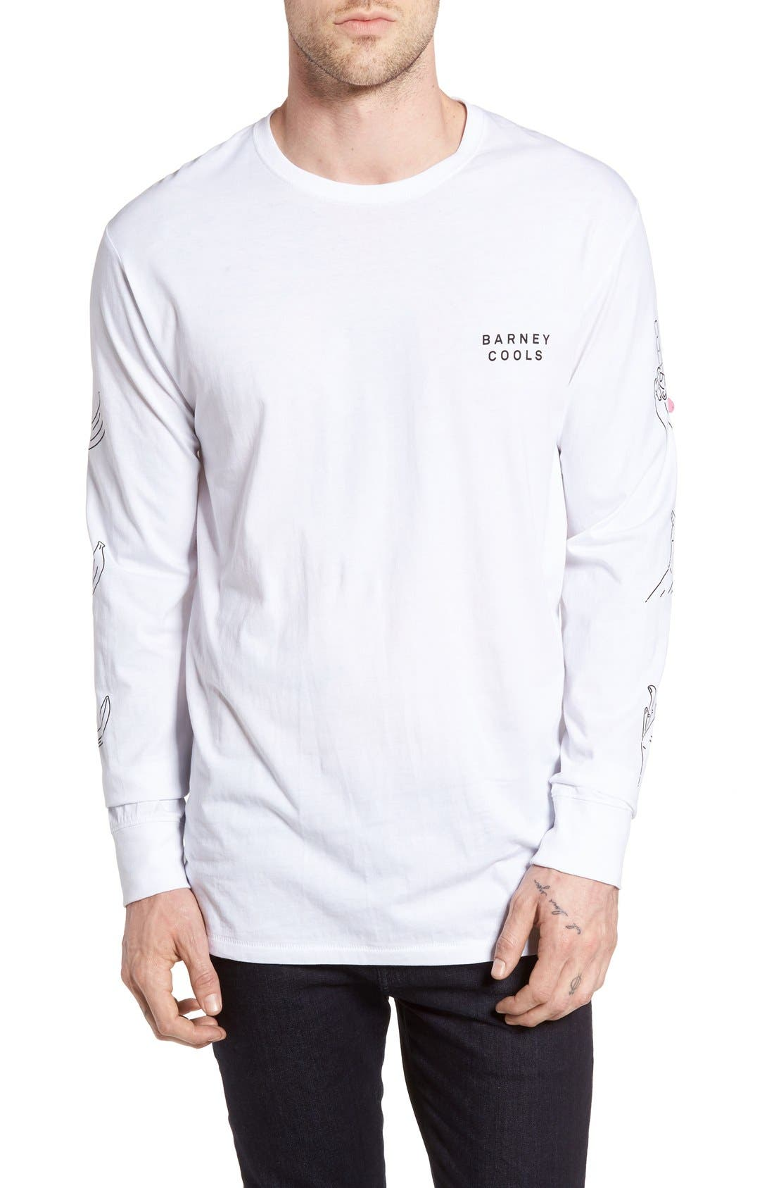 Barney Cools Playground Crewneck T-Shirt