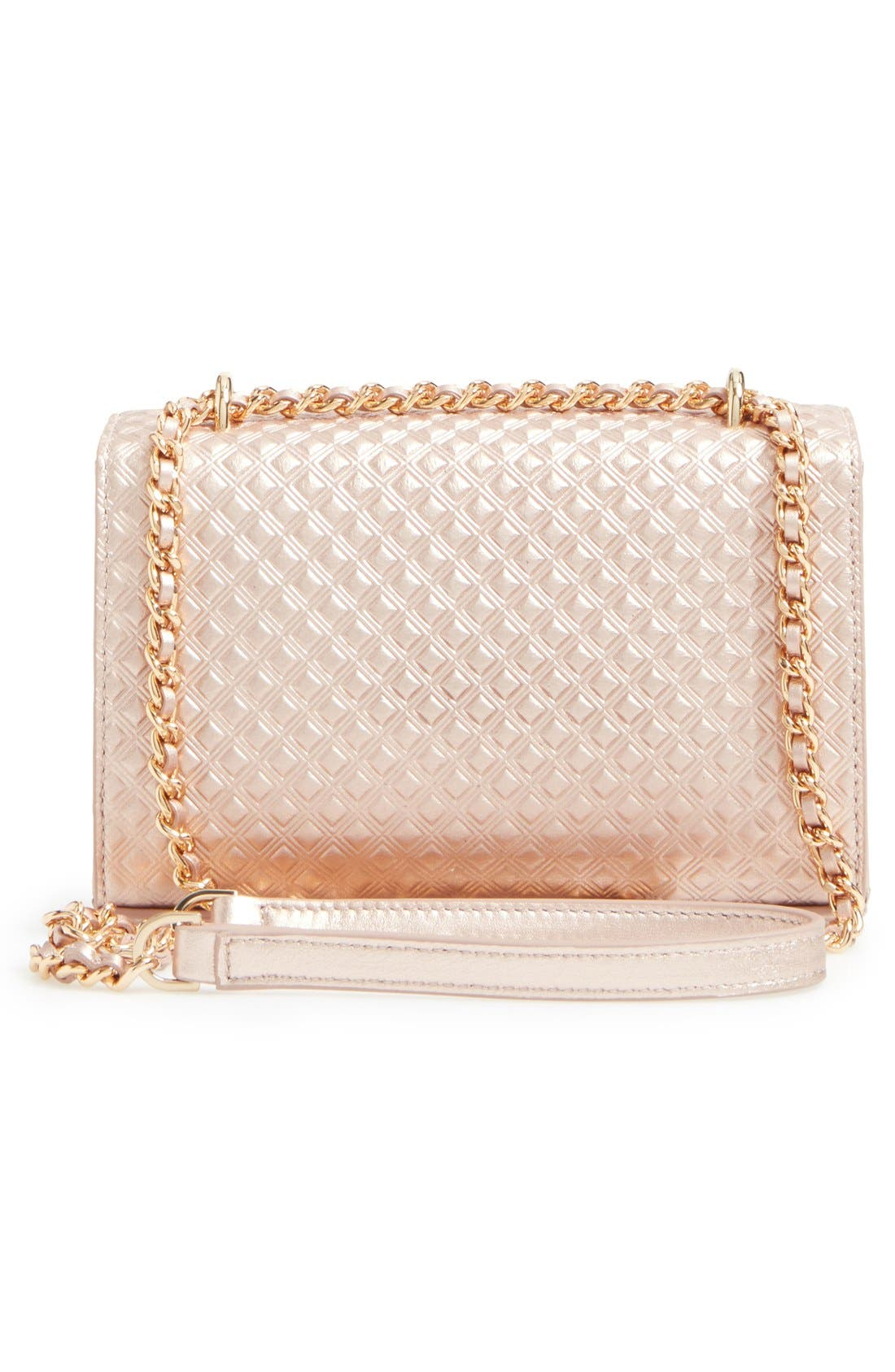 Alternate Image 2  - Tory Burch Marion Embossed Leather Crossbody Bag