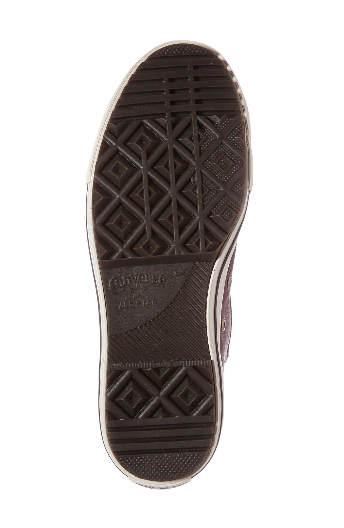 Alternate Image 4  - Converse Chuck Taylor® All Star® Faux Fur Chelsea Sneaker (Women)
