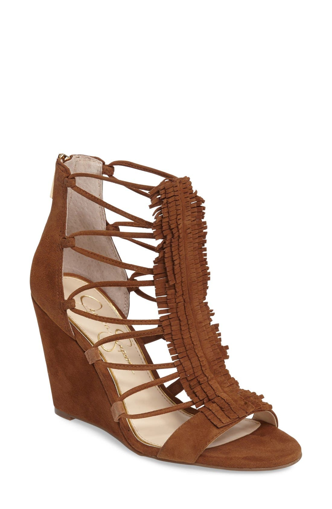 Jessica Simpson 'Beccy' Wedge Sandal (Women)