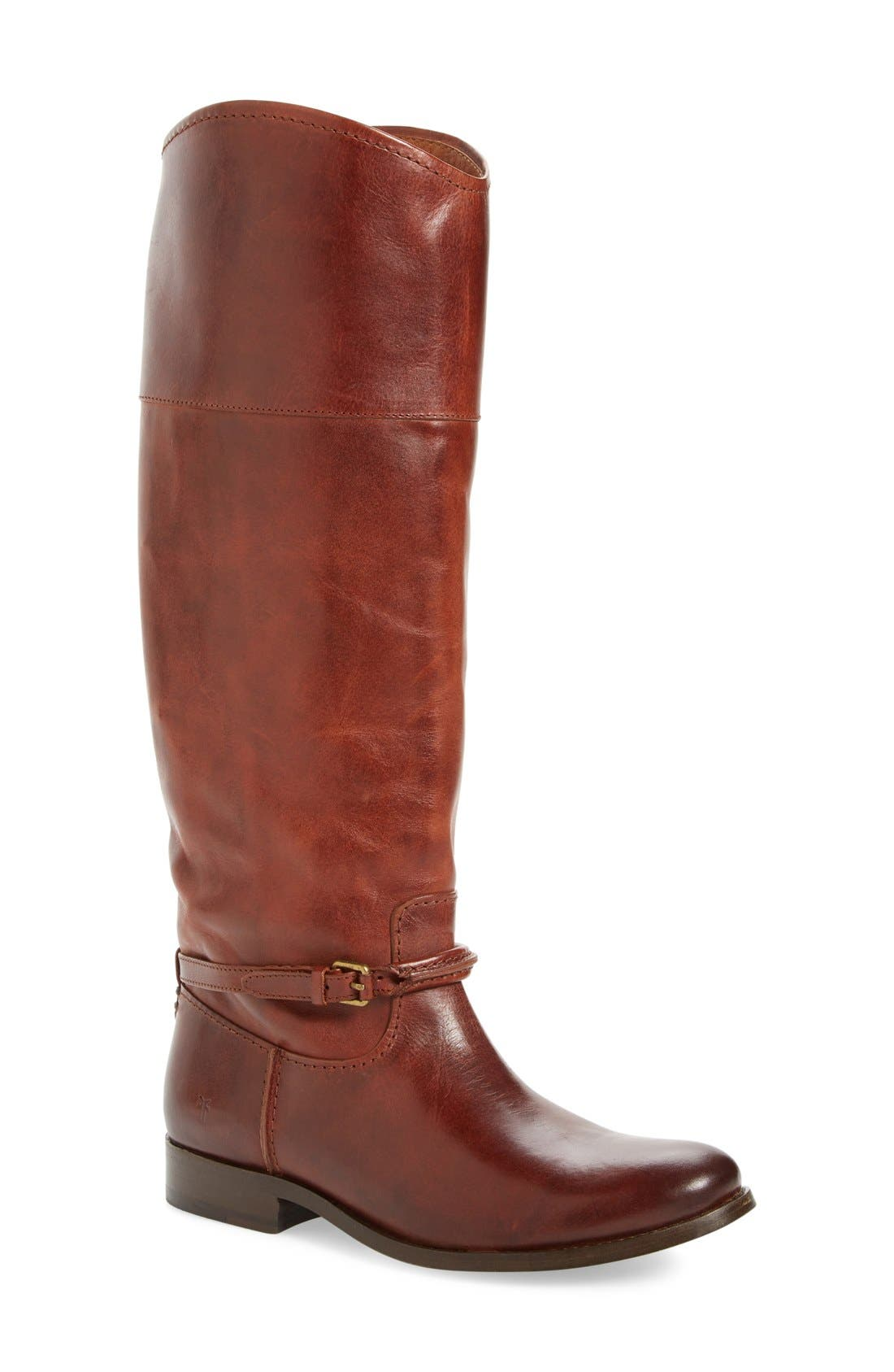 Frye Melissa Seam Boot (Women) (Wide Calf)
