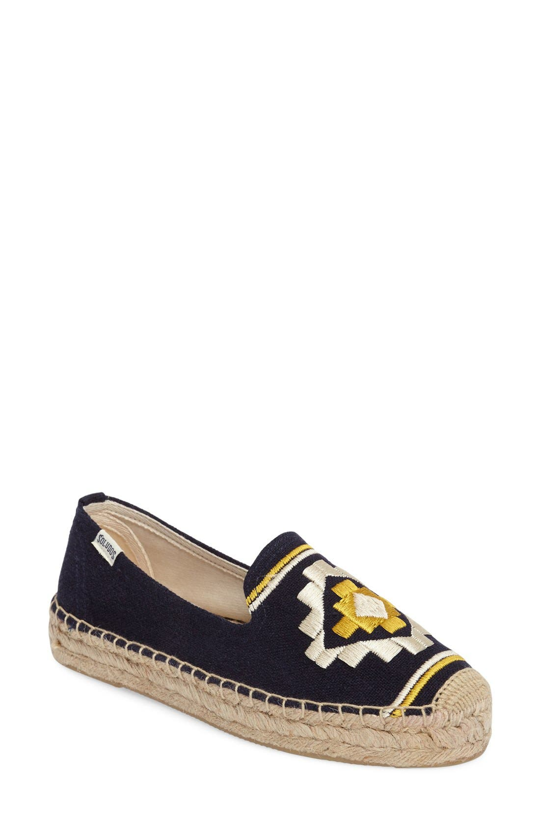 Soludos Embroidered Espadrille (Women)