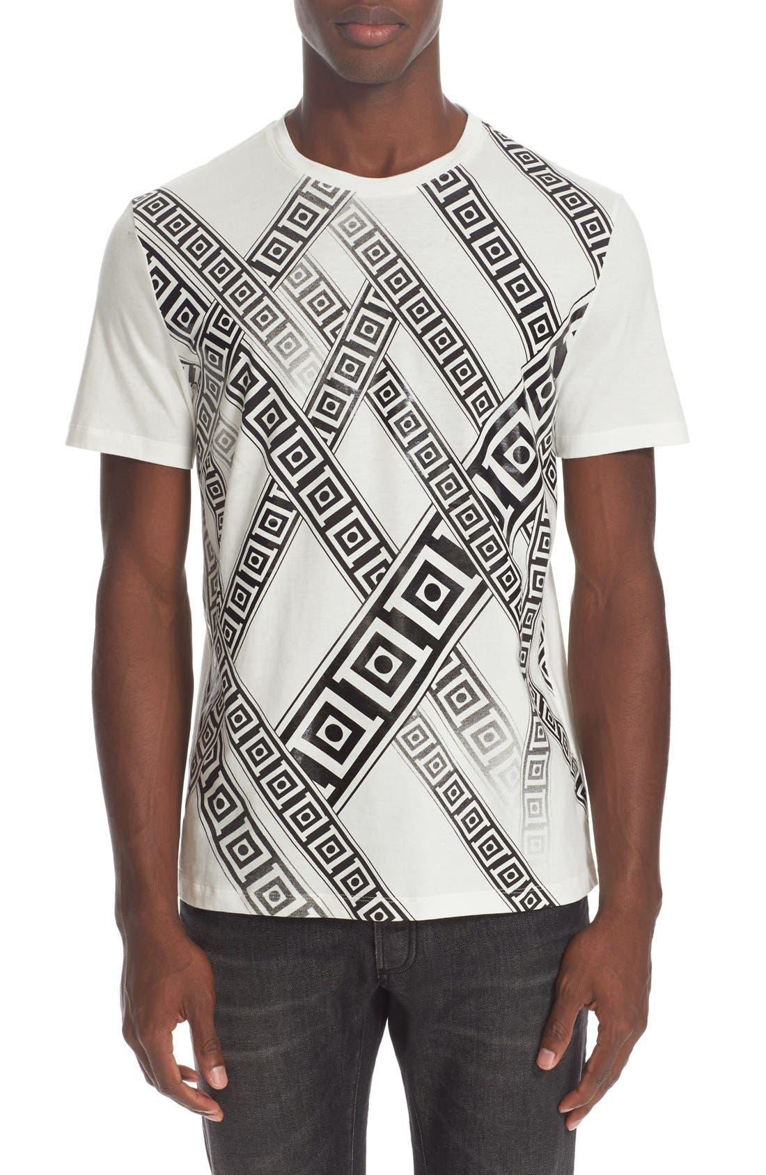 VERSACE COLLECTION Frame Print T-Shirt
