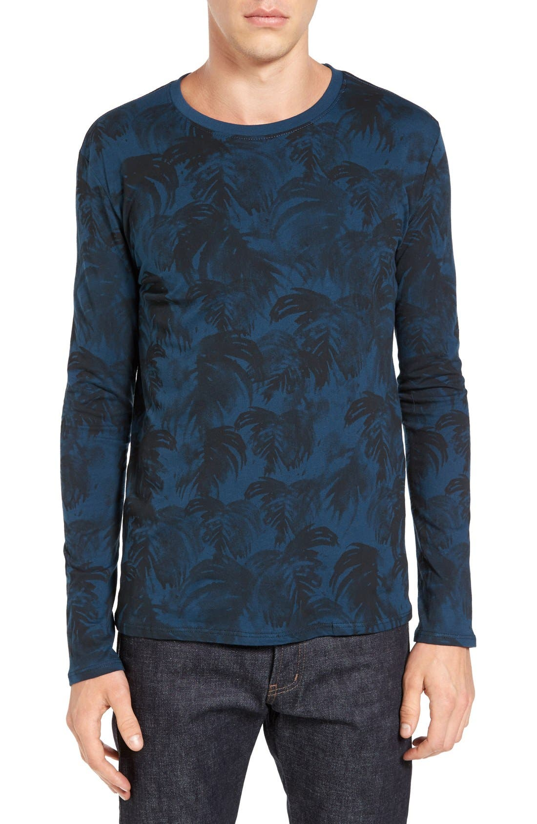 VESTIGE Canopy Palm Print T-Shirt