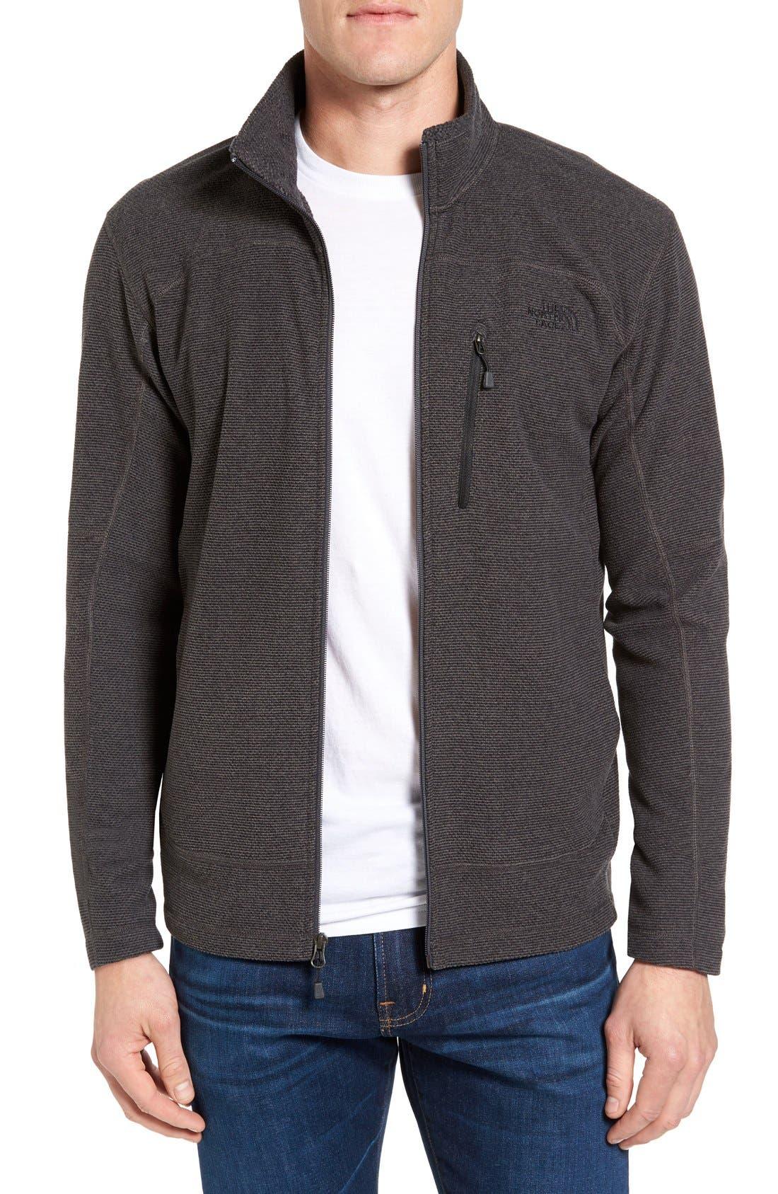 Alternate Image 1 Selected - The North Face 'Texture Cap Rock' Fleece Jacket
