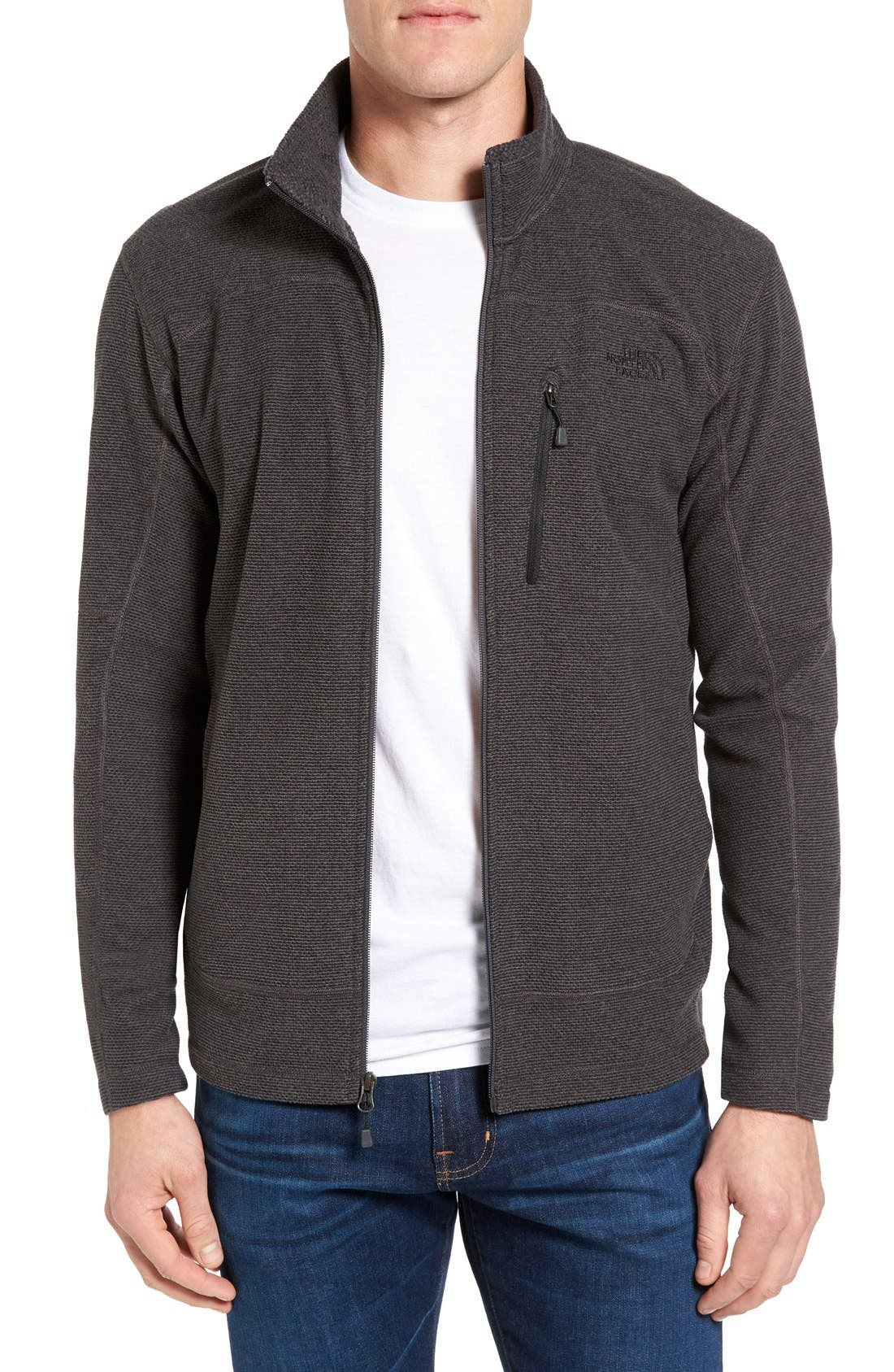 Main Image - The North Face 'Texture Cap Rock' Fleece Jacket