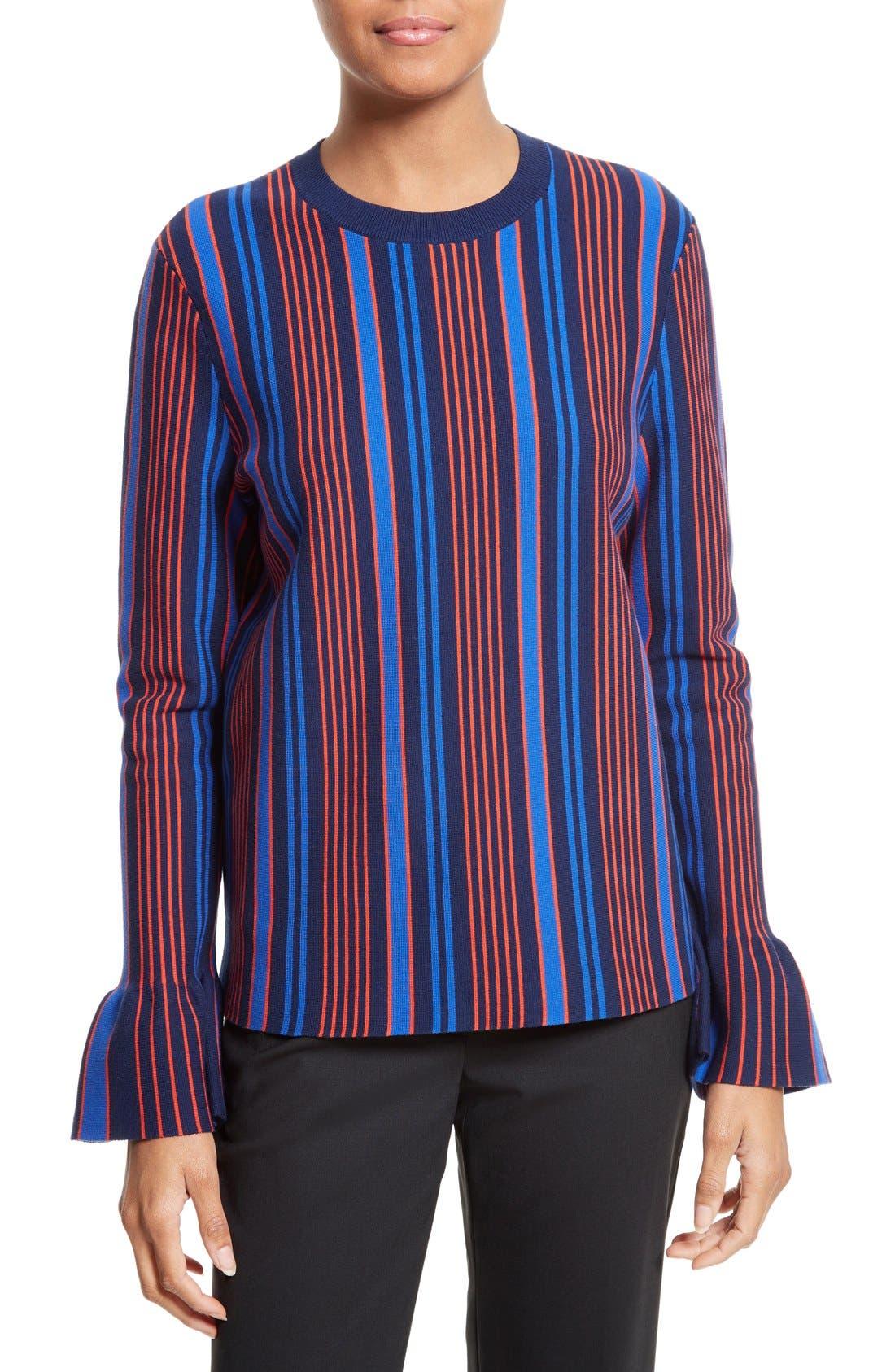 Tory Burch Lindo Flare Cuff Sweater