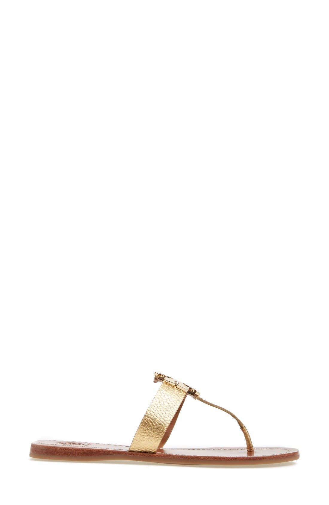 Alternate Image 3  - Tory Burch Moore Logo Sandal (Women)