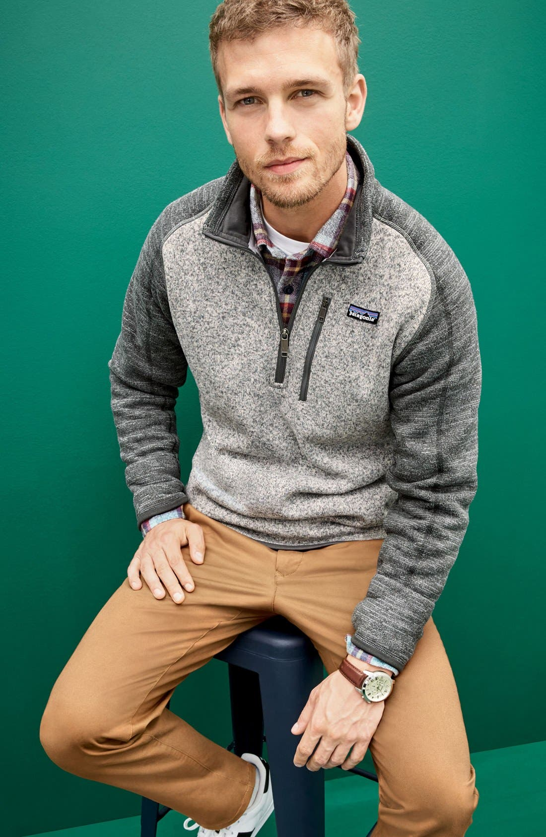 Alternate Image 7  - Patagonia 'Better Sweater' Quarter Zip Pullover