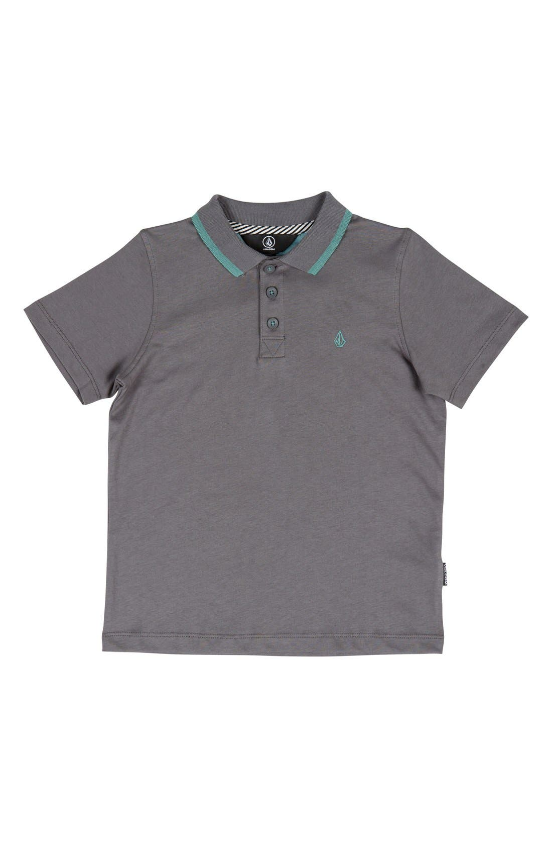 Volcom Wowzer Contrast Polo (Toddler Boys, Little Boys & Big Boys)