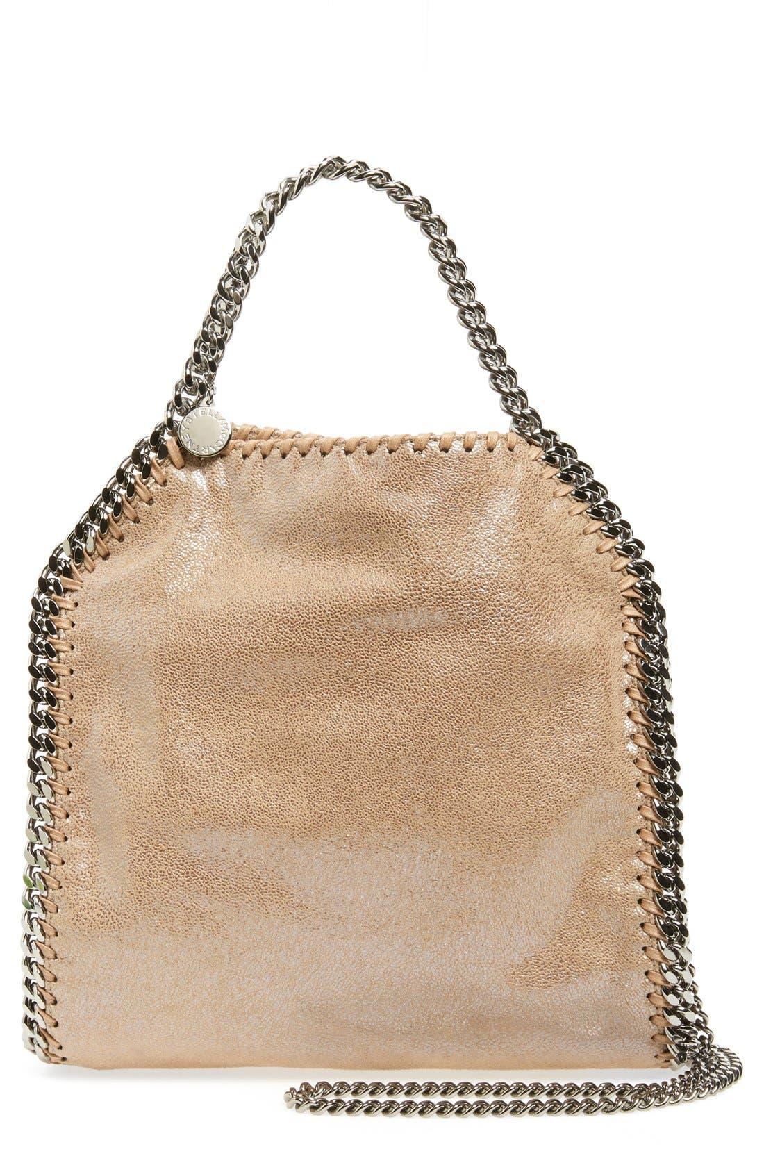 Alternate Image 1 Selected - Stella McCartney 'Mini Falabella' Faux Leather Crossbody Bag