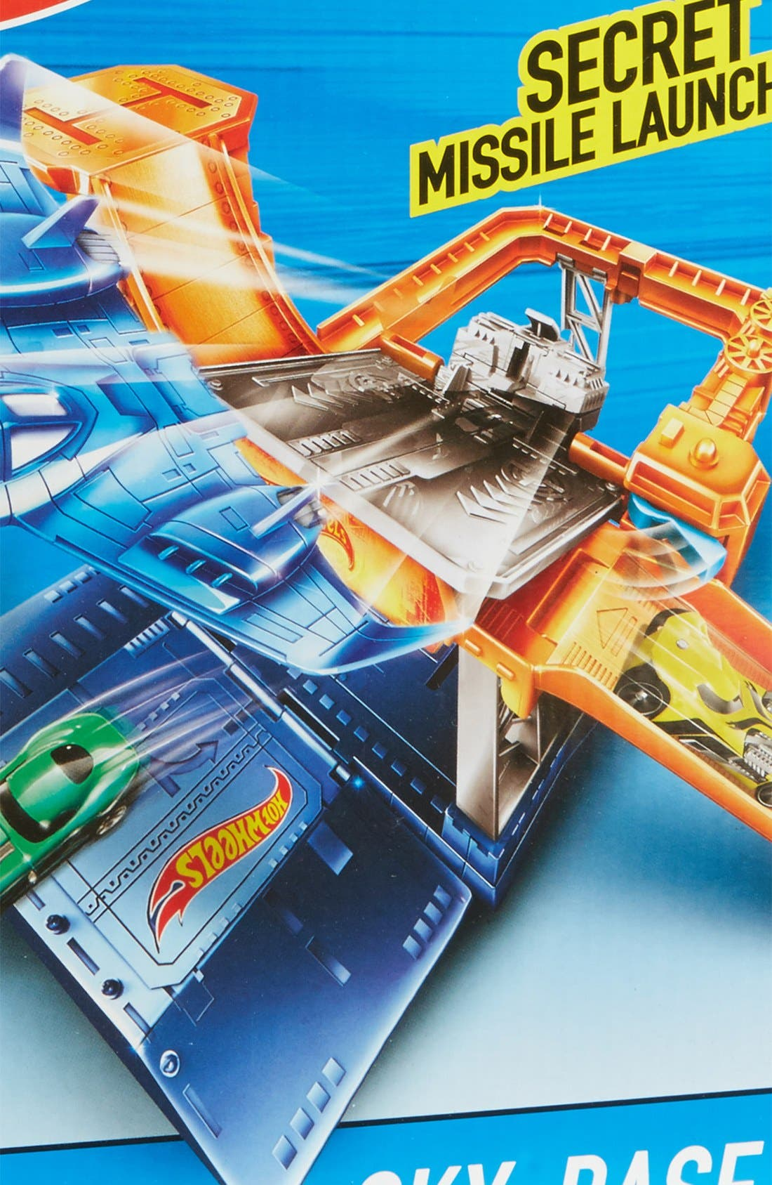 Alternate Image 3  - Mattel Hot Wheels® Sky-Base Blast™ Play Set
