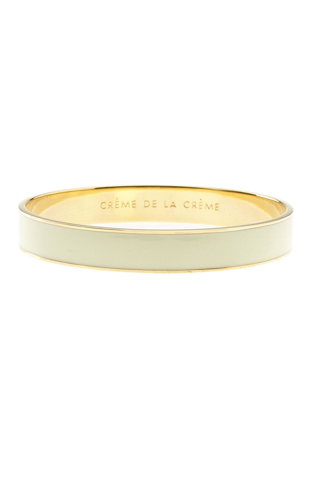 Main Image - kate spade new york 'idiom - crème de la crème' bangle
