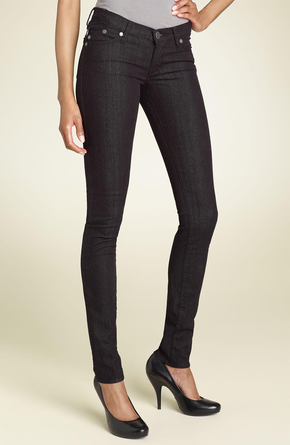 Alternate Image 2  - Rock & Republic 'Berlin' Skinny Stretch Jeans (Black Wash)