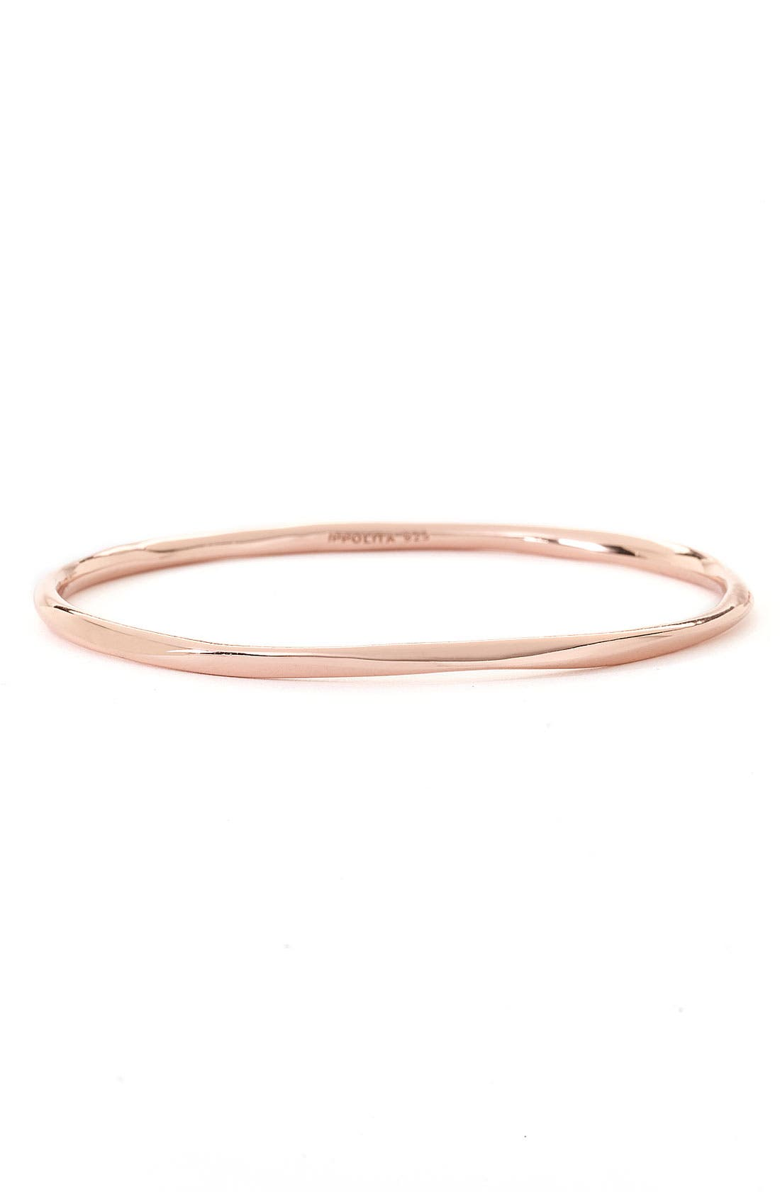 Alternate Image 1 Selected - Ippolita 'Shiny Squiggle' Rosé Bangle