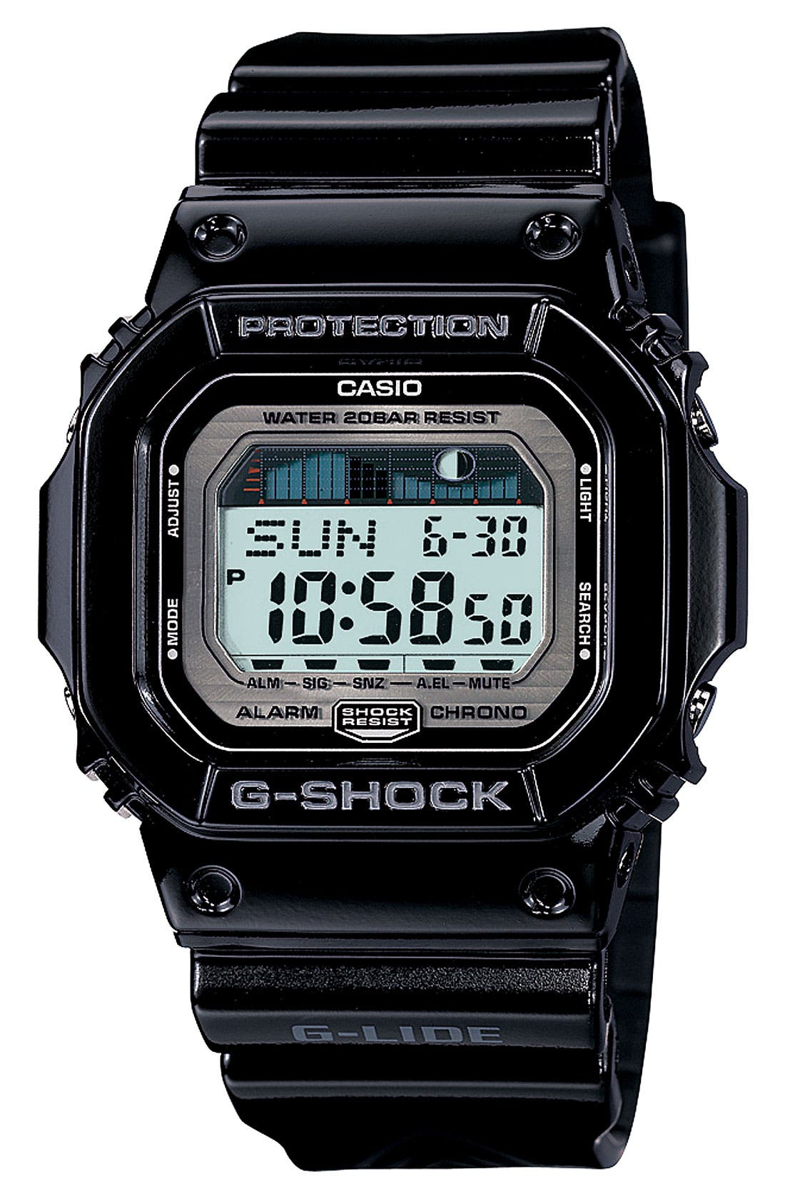 Alternate Image 1 Selected - G-Shock 'Glide' Watch, 43mm