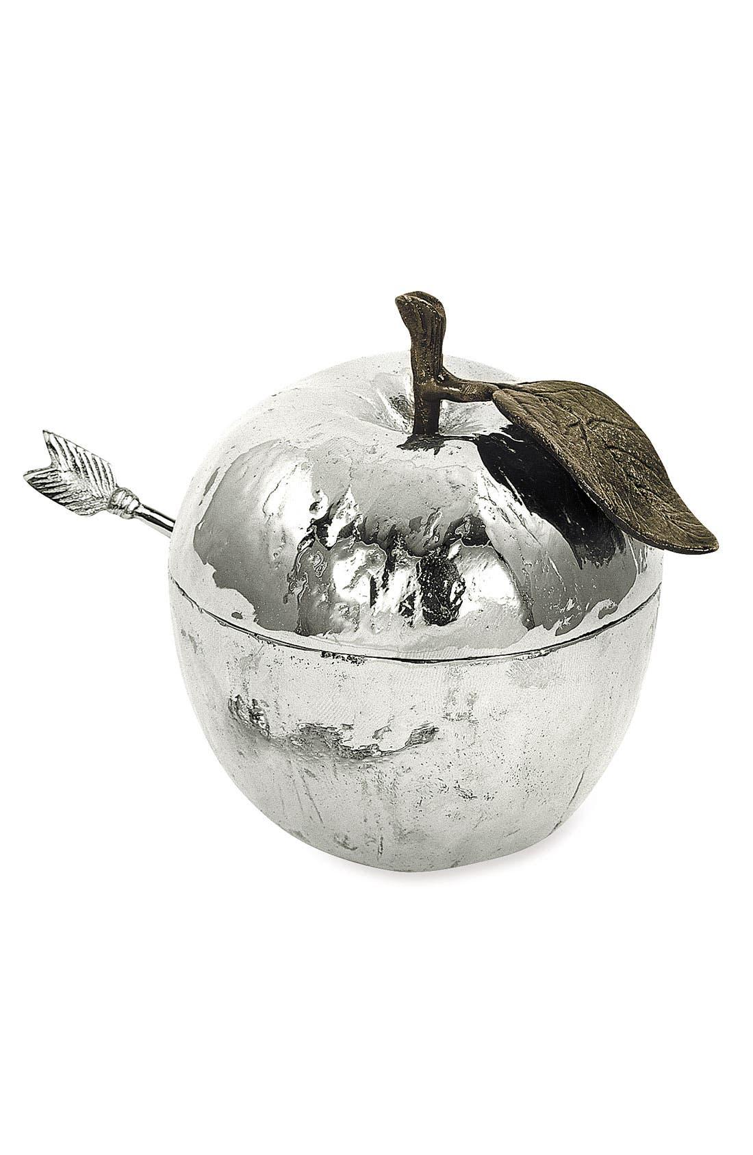 Alternate Image 1 Selected - Michael Aram 'Apple' Honey Pot with Spoon