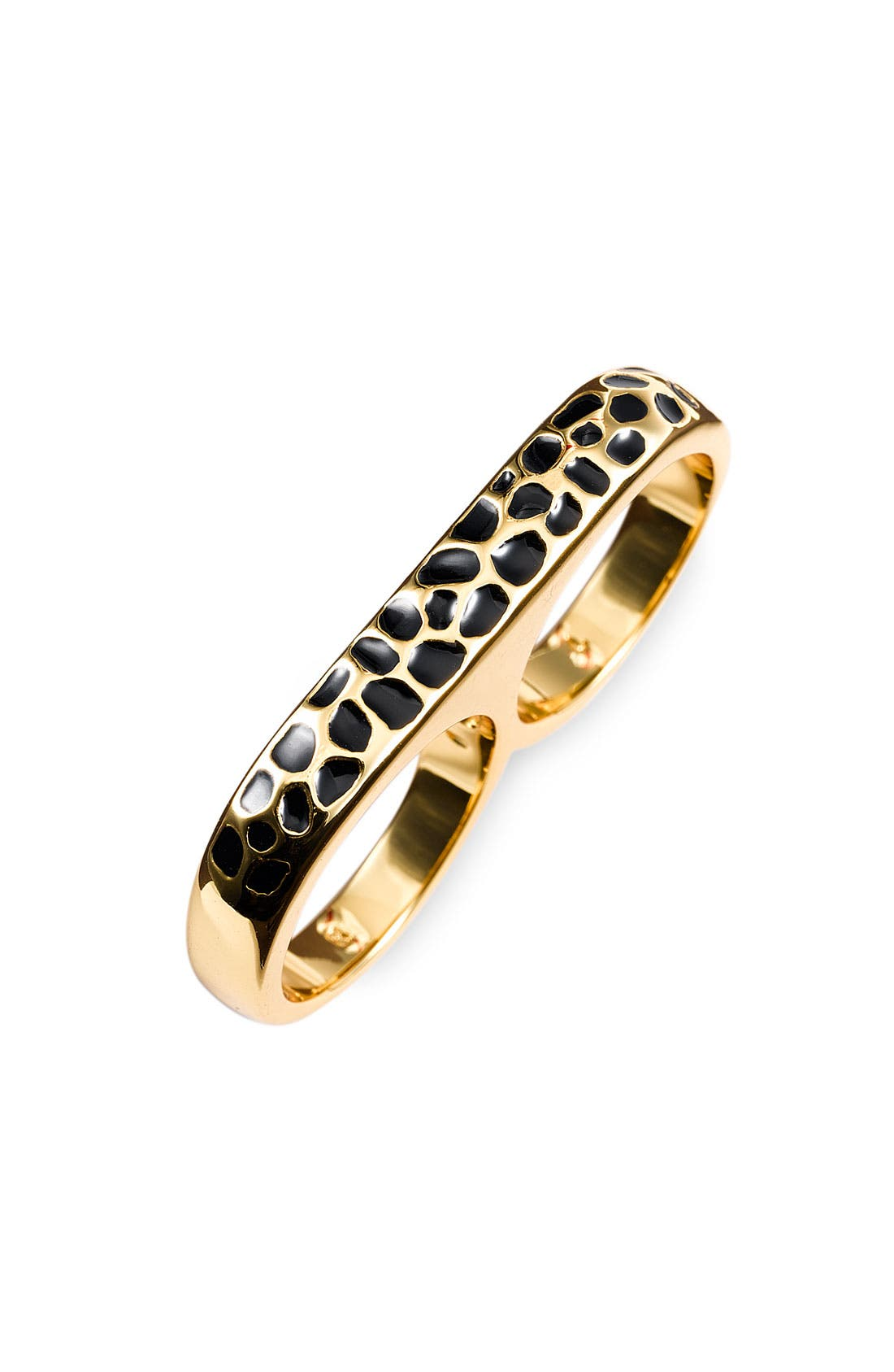 Alternate Image 1 Selected - Erica Anenberg 'Leopard Twosome' Ring