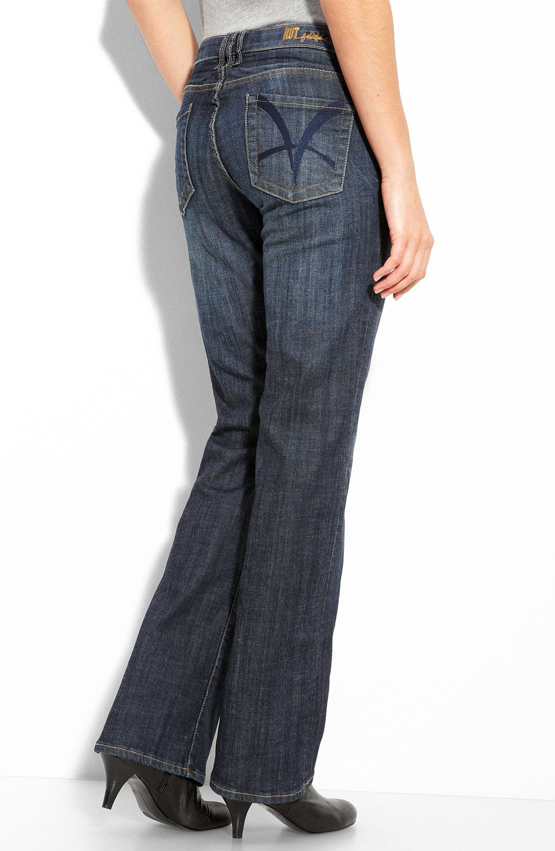 Alternate Image 1 Selected - KUT from the Kloth Bootcut Stretch Jeans