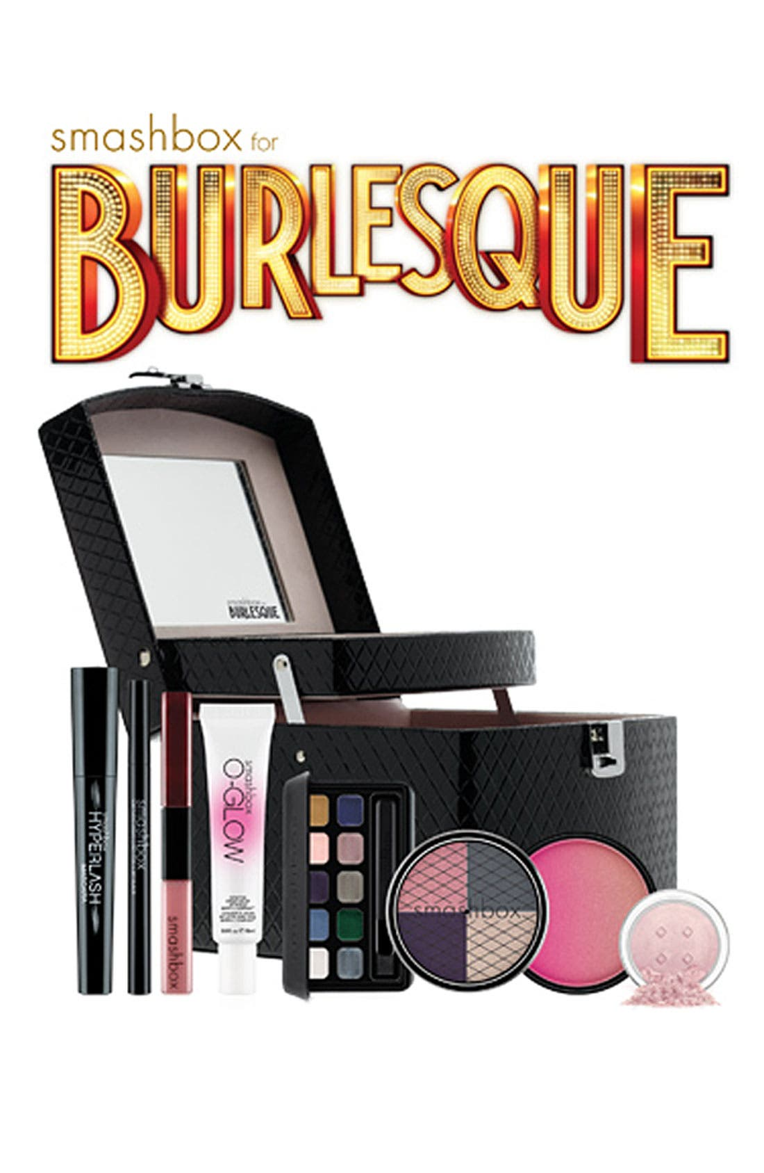 Alternate Image 2  - Smashbox 'Burlesque' Beauty Collection & Train Case (Nordstrom Exclusive) ($250 Value)
