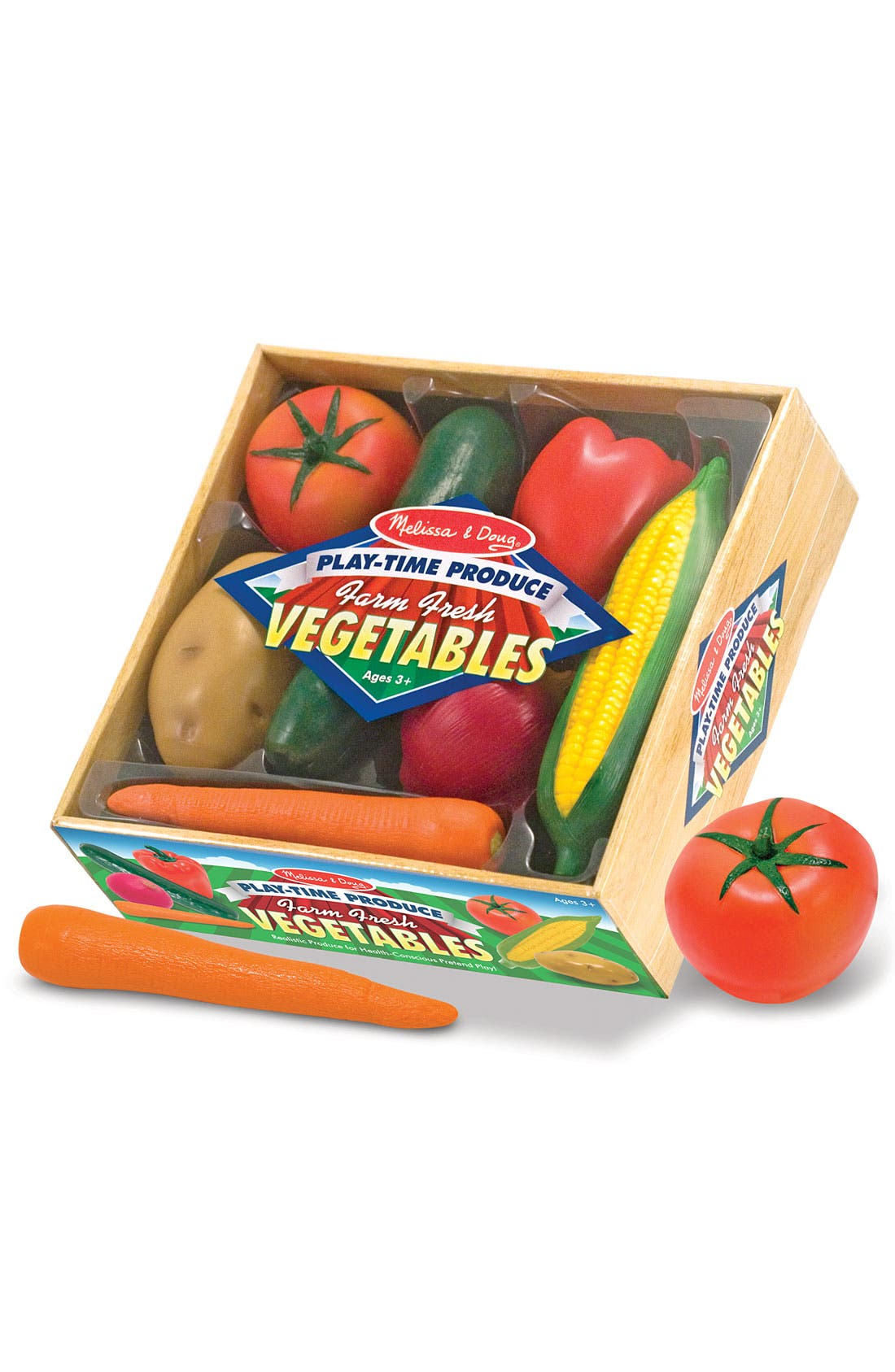 Alternate Image 1 Selected - Melissa & Doug Play Time Produce Crate