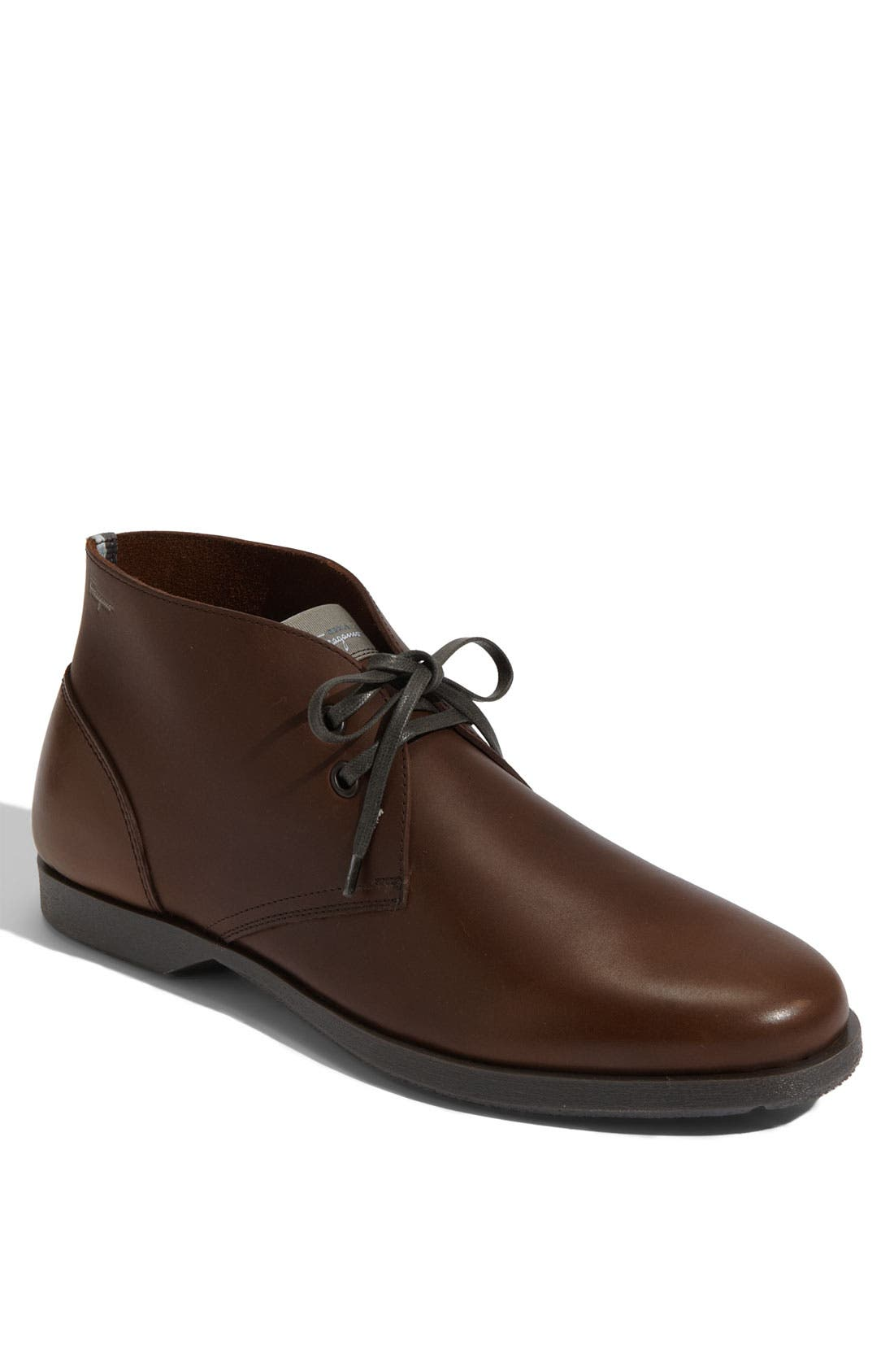 Alternate Image 1 Selected - Salvatore Ferragamo 'Metro' Lace-Up Boot