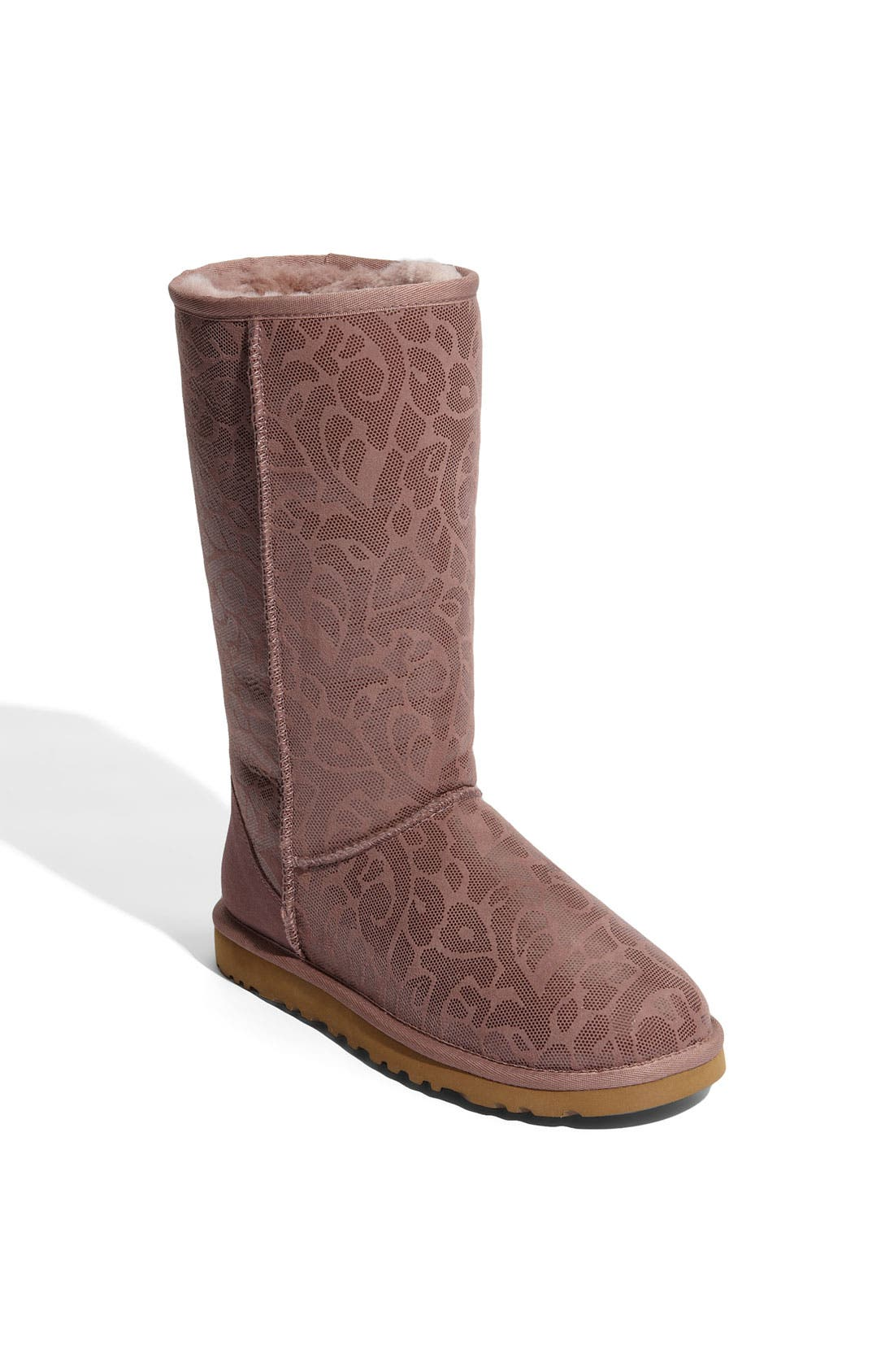 Alternate Image 1 Selected - UGG® Australia 'Classic Tall Flora' Boot (Women)