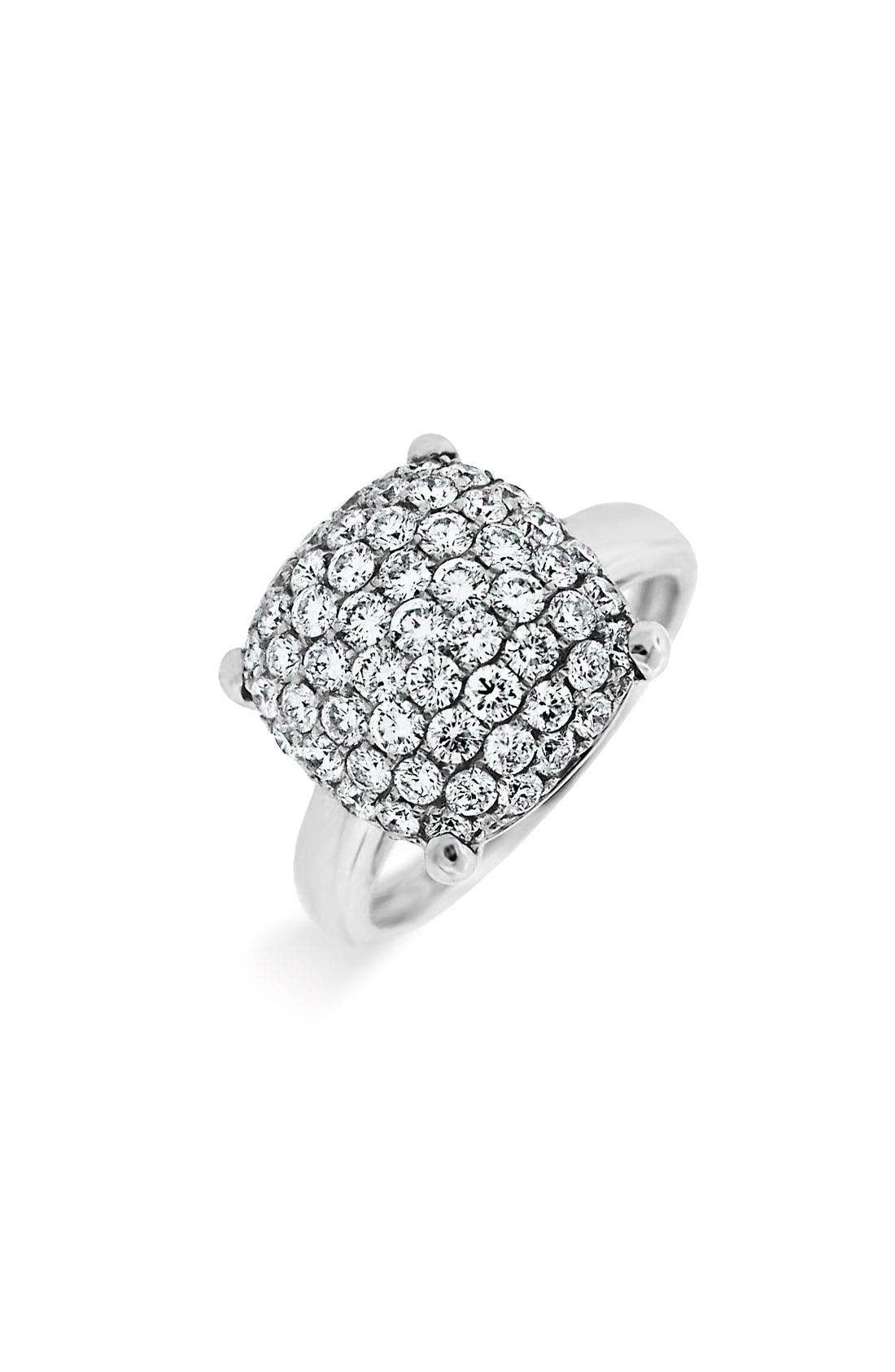 Main Image - Bony Levy Diamond Pillow Ring (Nordstrom Exclusive)