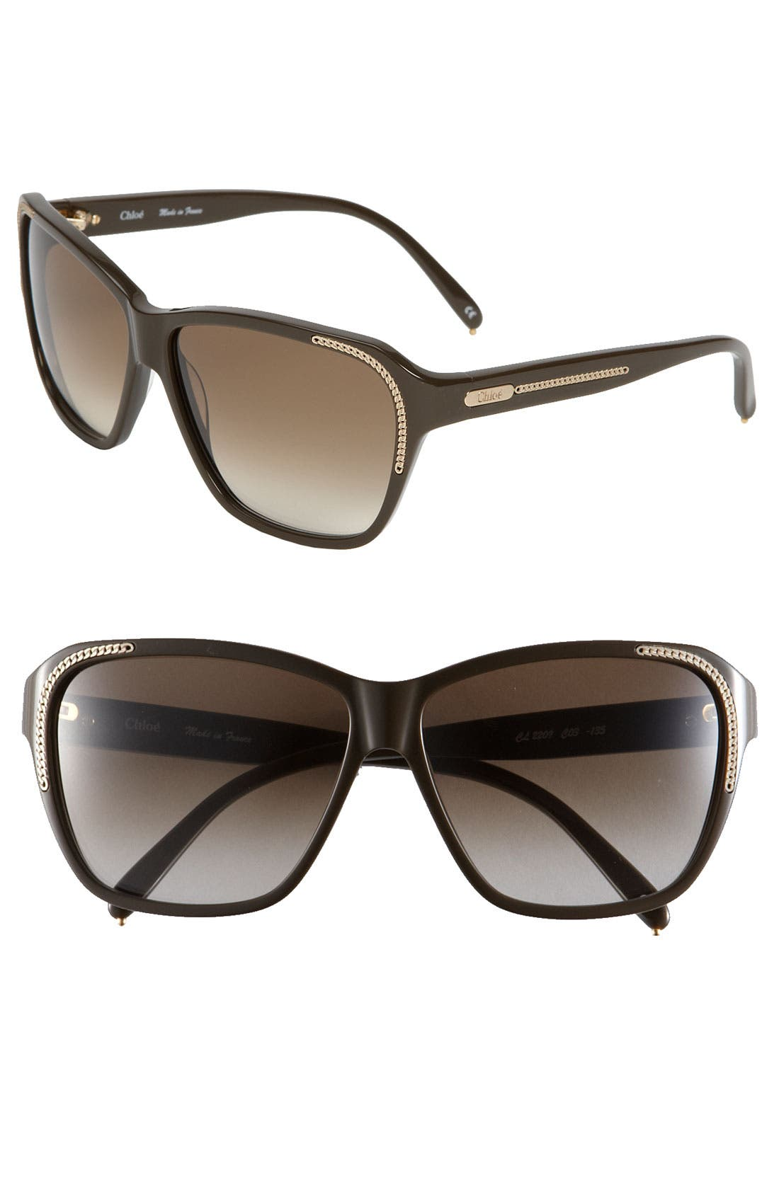 Alternate Image 1 Selected - Chloé '2209' Sunglasses