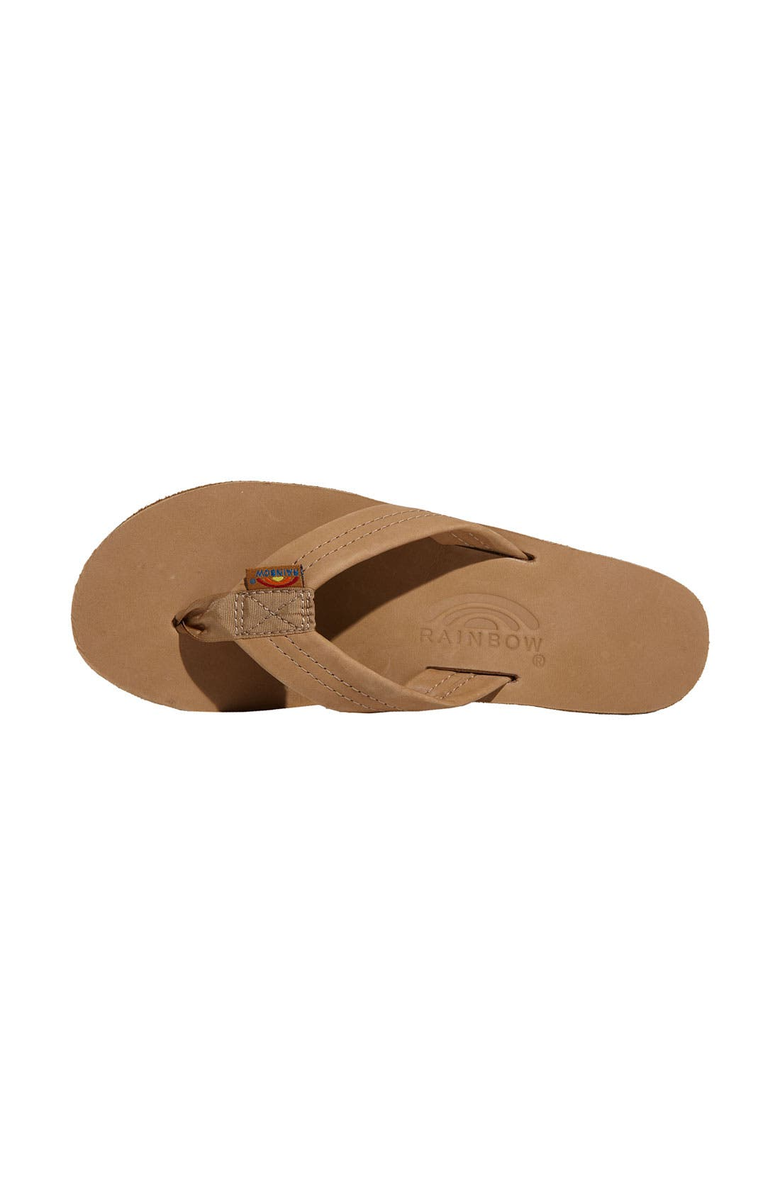 Alternate Image 3  - Rainbow Double Layer Thong Sandal (Women)