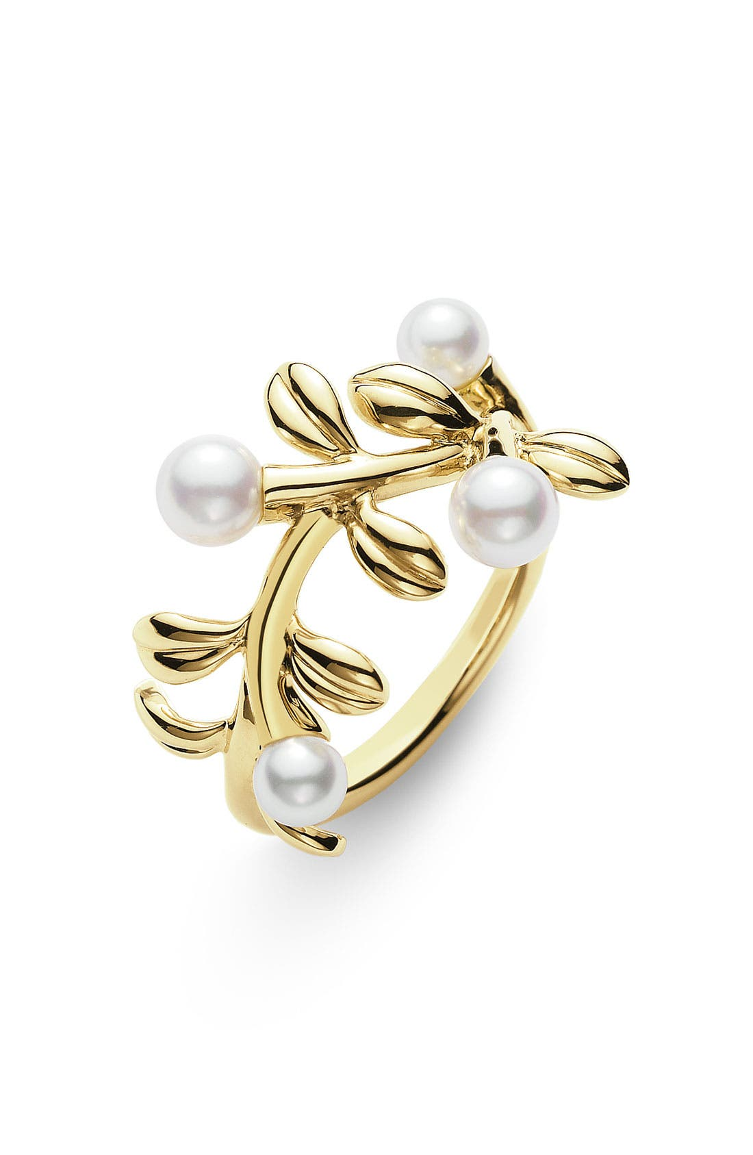 Alternate Image 1 Selected - Mikimoto Akoya Cultured Pearl Ring