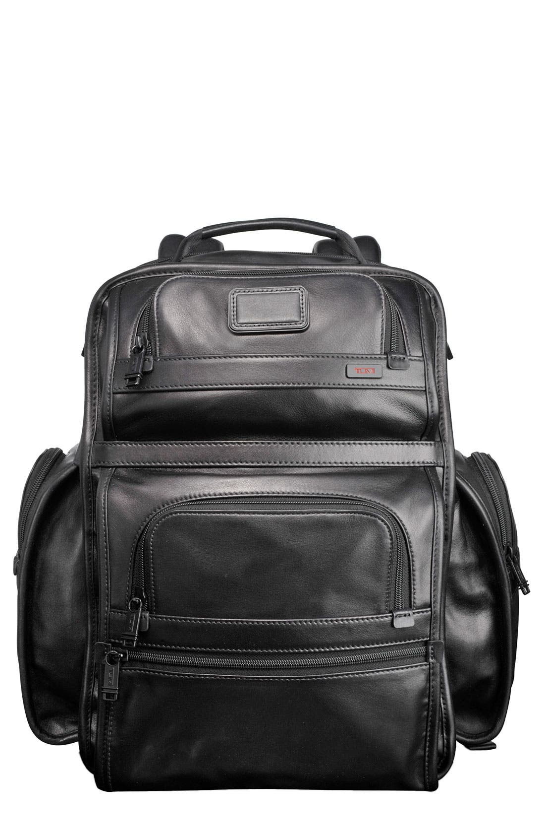 Alternate Image 1 Selected - Tumi 'Alpha - T-Pass™' Business Class Leather BriefPack®