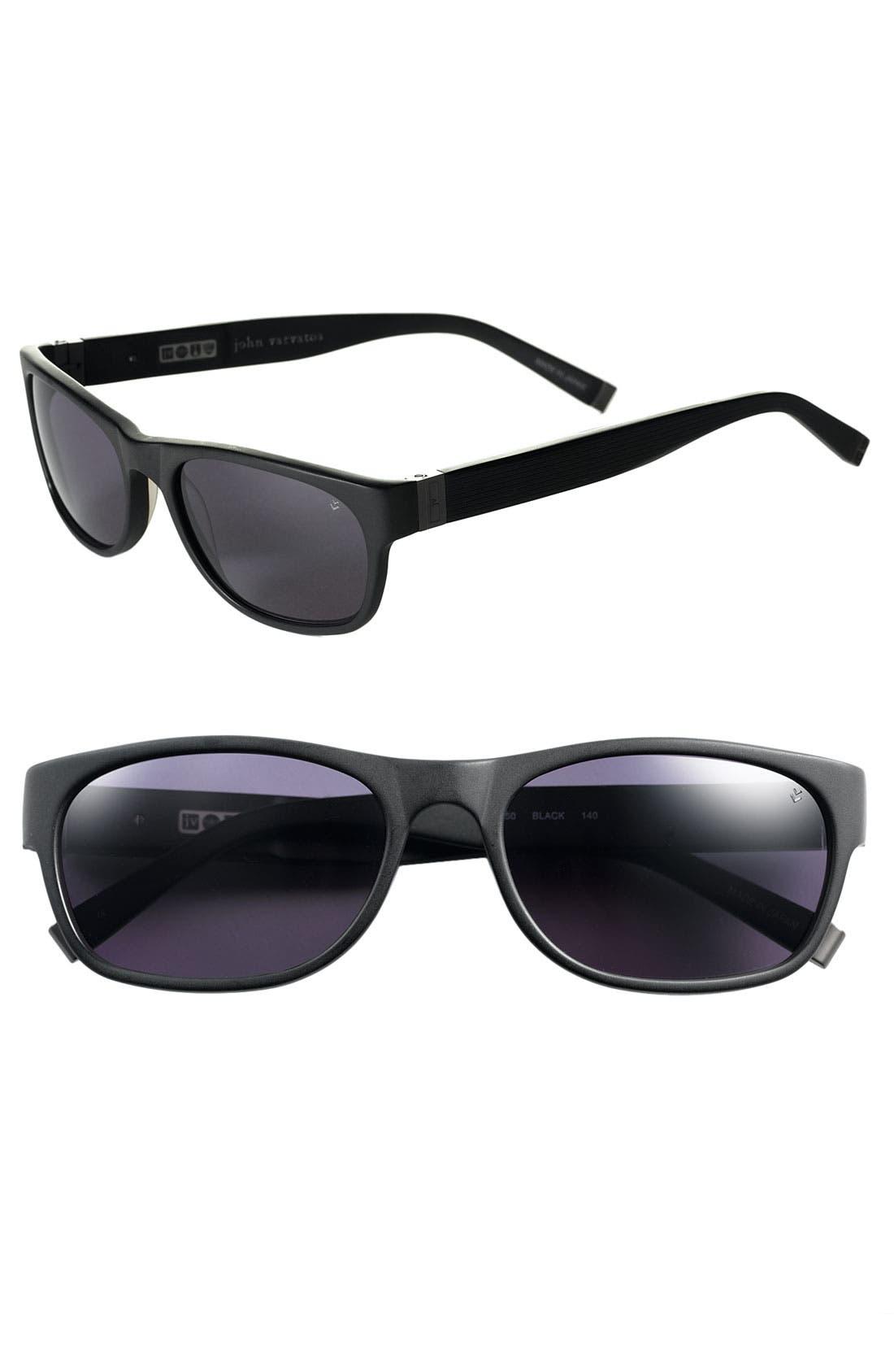 Main Image - John Varvatos Collection 'Swirl' Plastic Sunglasses