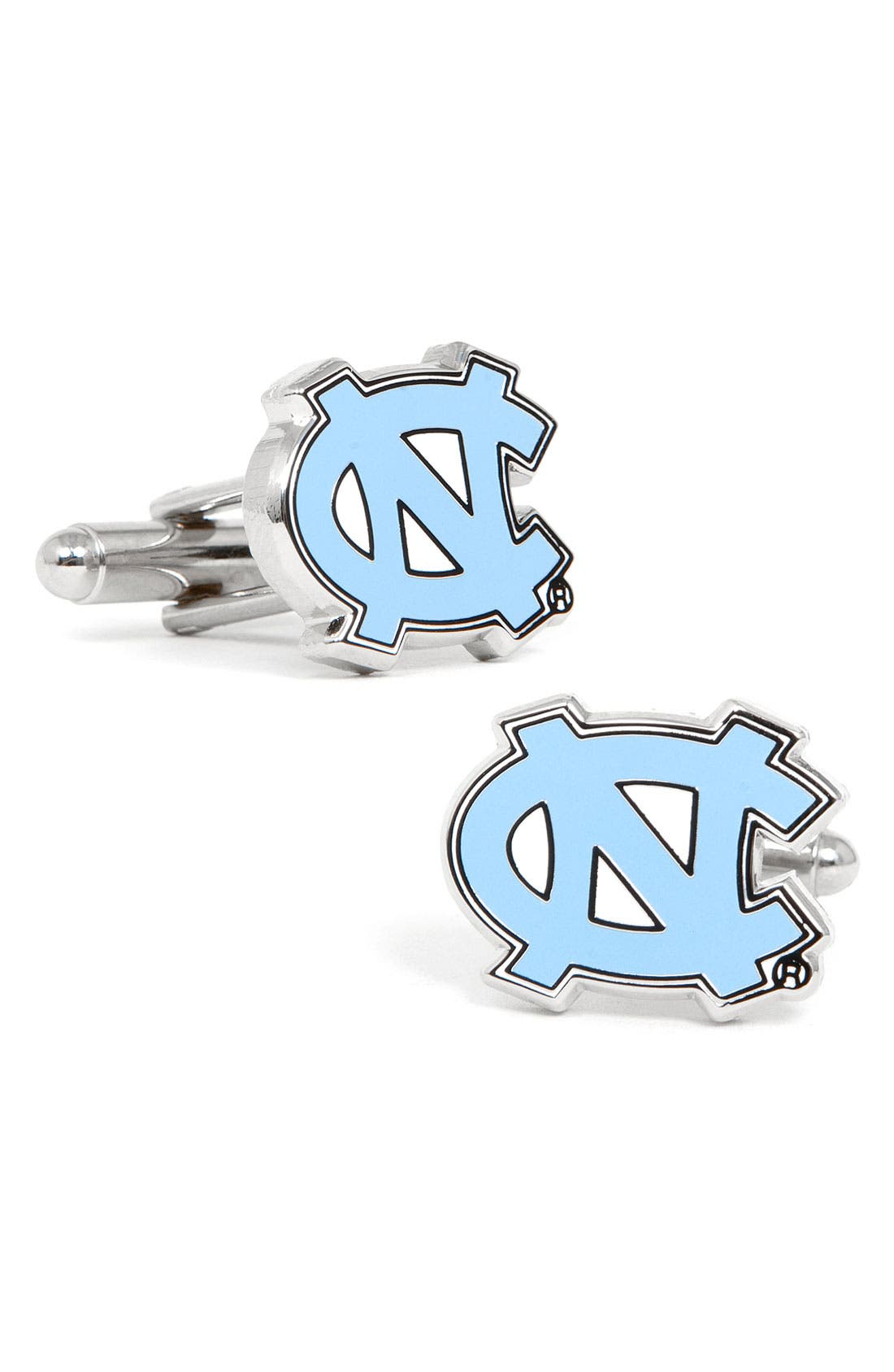 Main Image - Cufflinks, Inc. 'University of North Carolina Tar Heels' Cuff Links