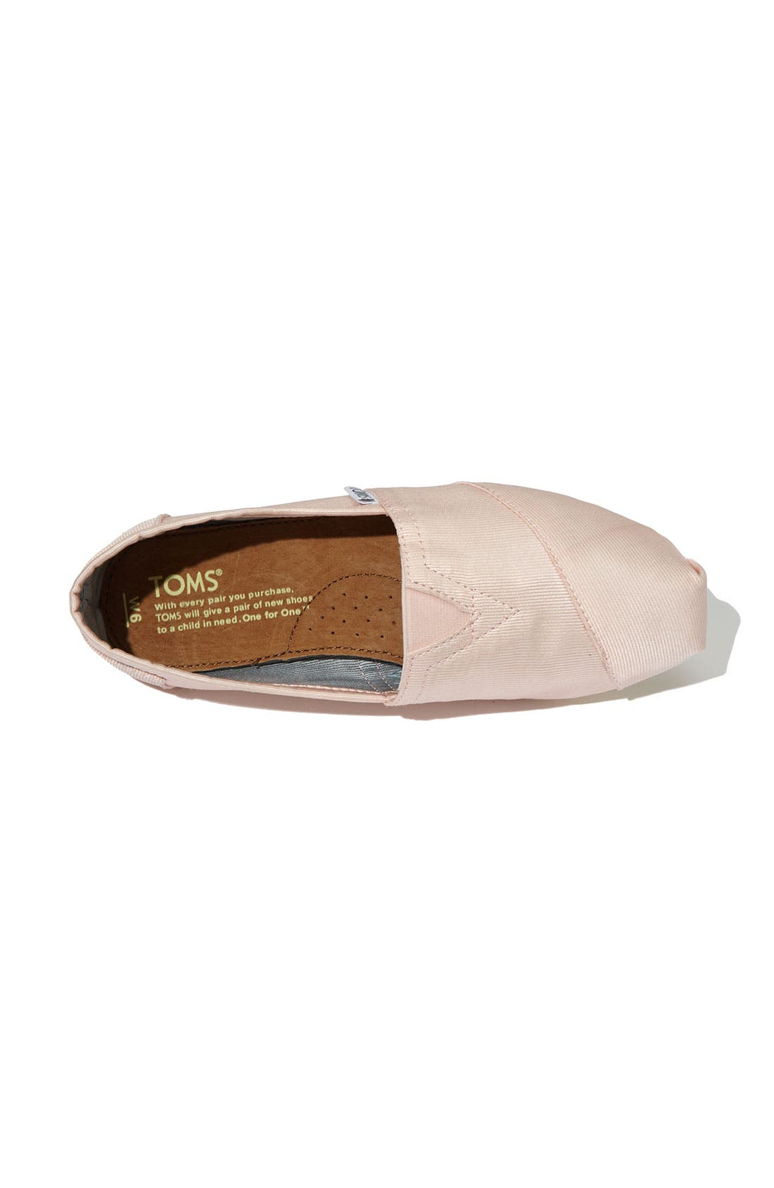 Alternate Image 3  - TOMS Grosgrain Ribbon Slip-On (Women)