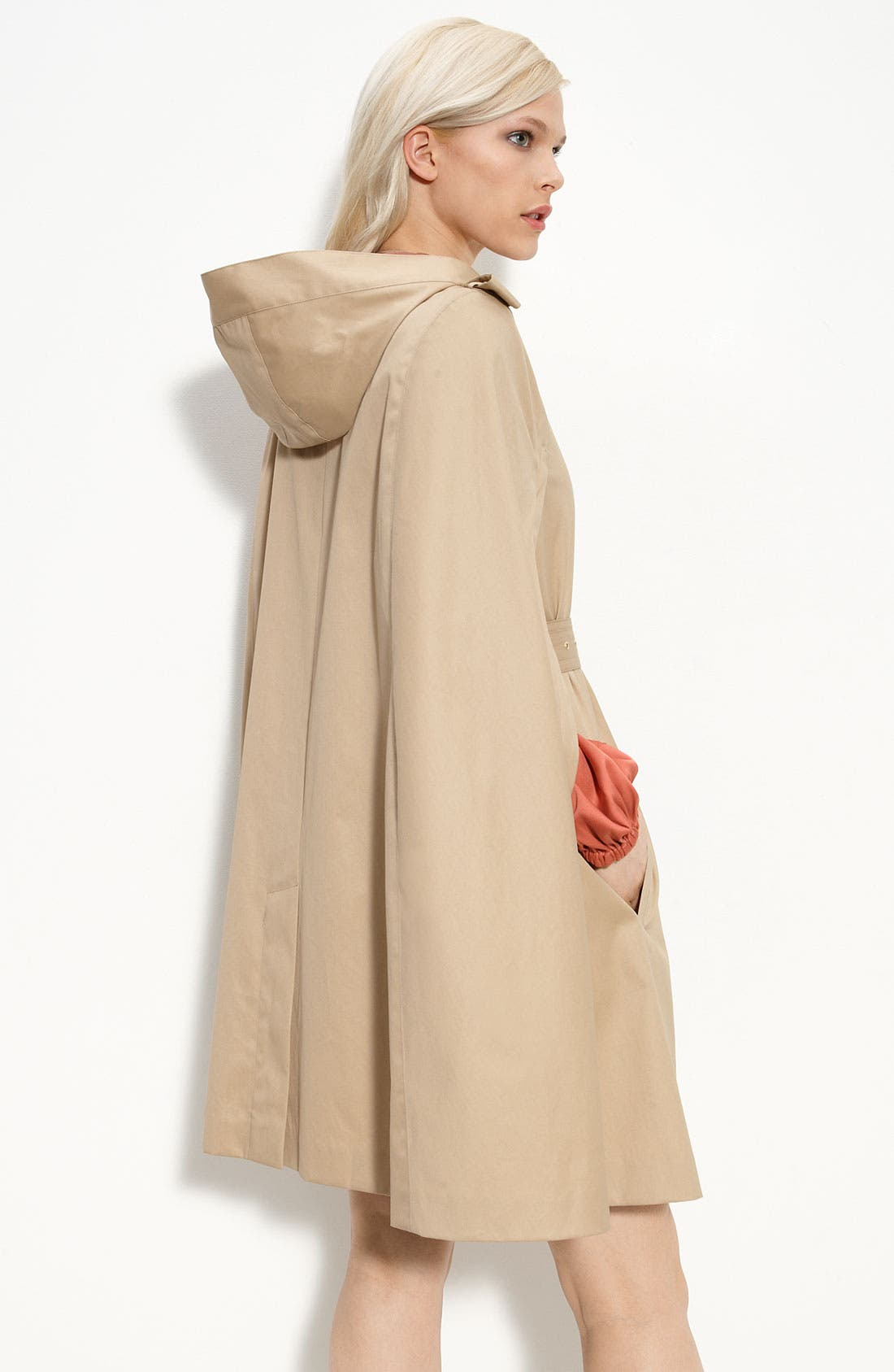 Alternate Image 2  - Diane von Furstenberg Hooded Cotton Cape