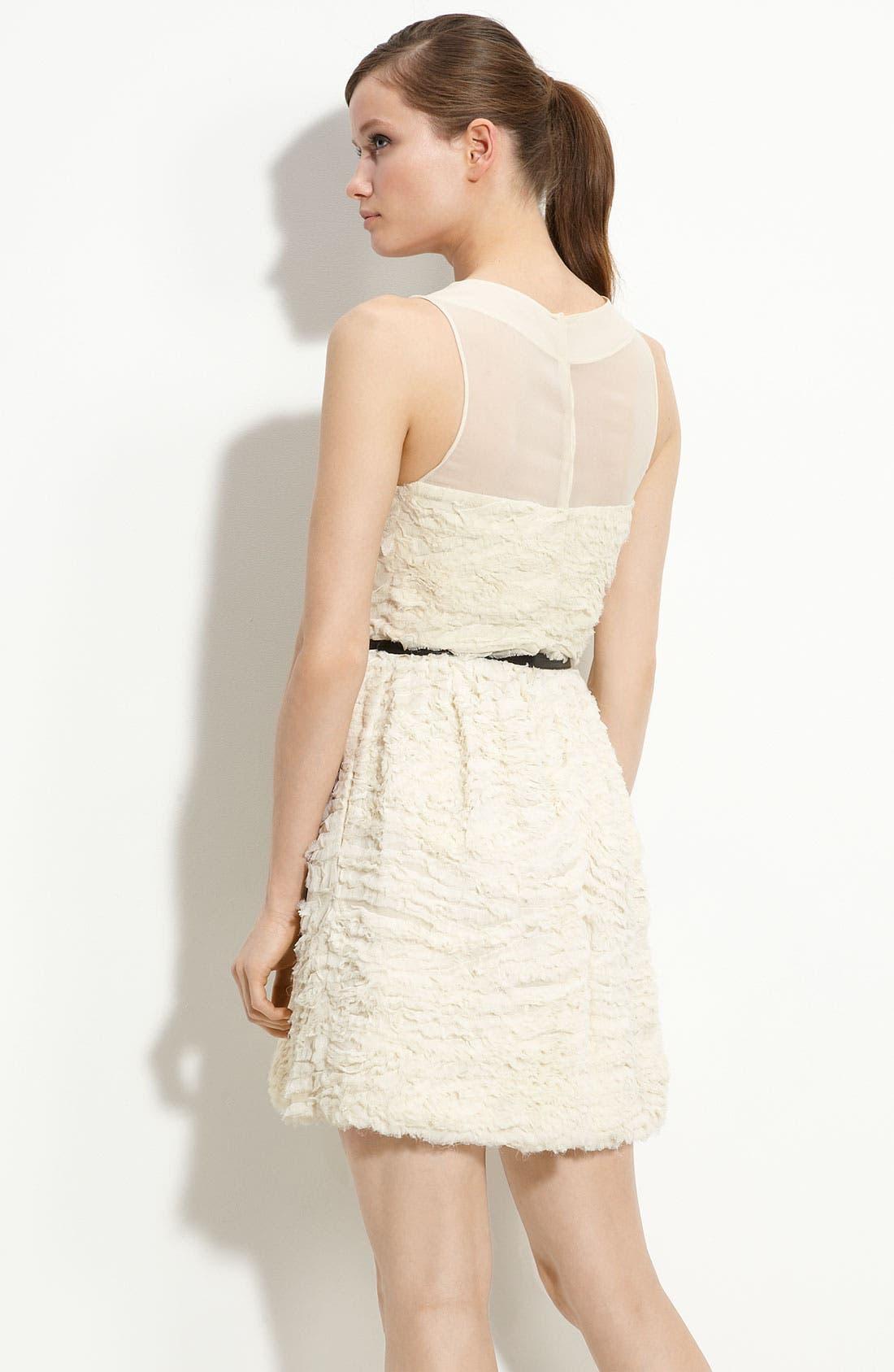 Alternate Image 2  - Robert Rodriguez Crinkled Chiffon Dress