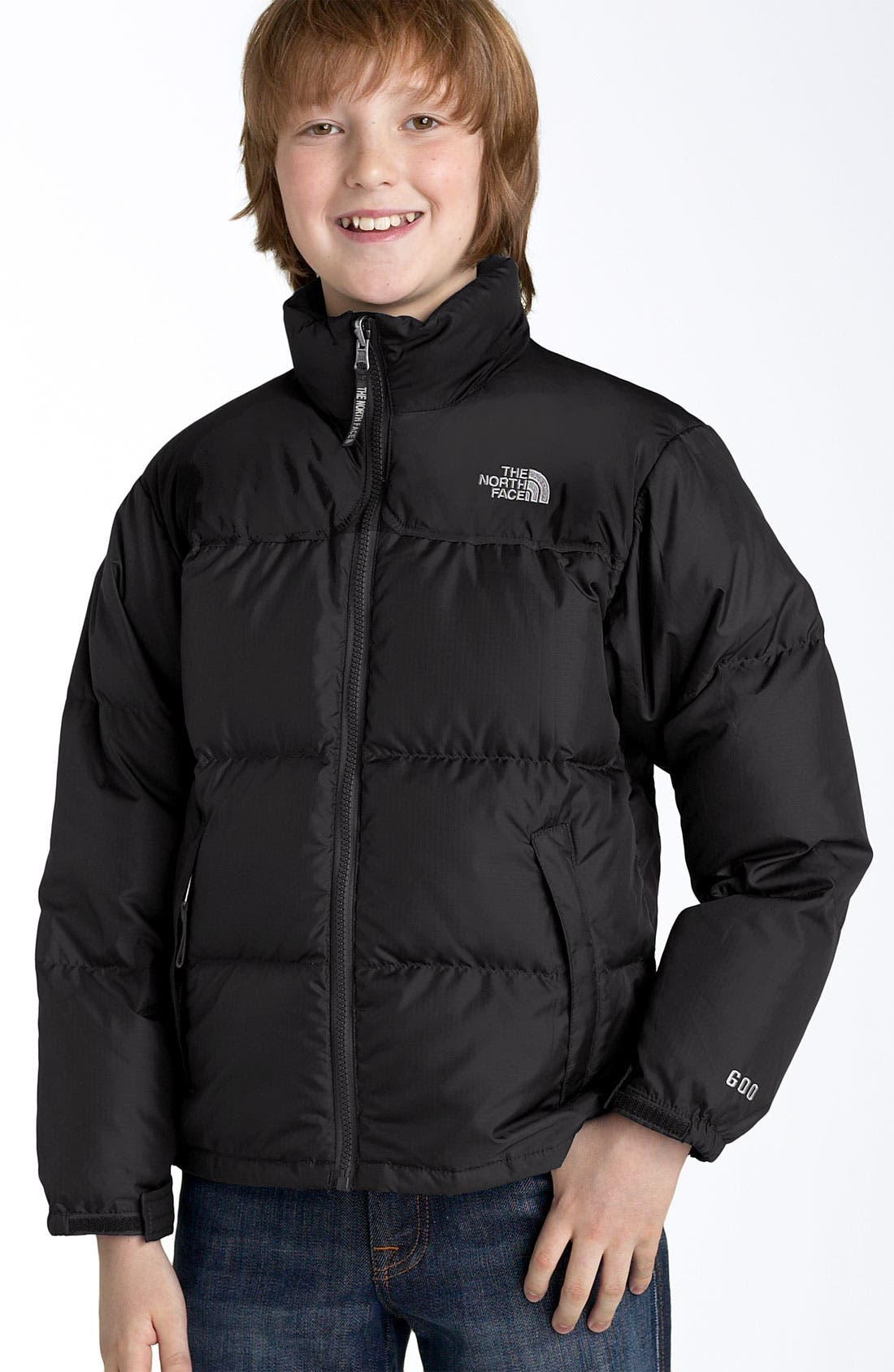 Alternate Image 2  - The North Face 'Nuptse' 550-Fill Down Jacket (Big Boys)