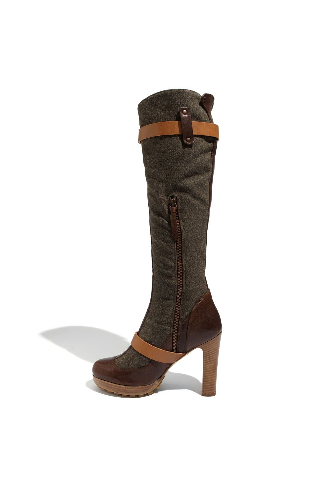 Alternate Image 2  - UGG® Collection 'Aniela' Genuine Shearling Lined Boot