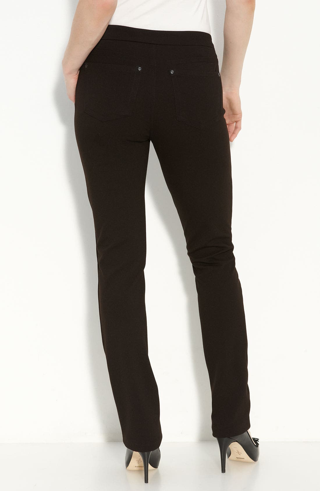 Alternate Image 2  - NYDJ 'Samantha' Stretch Ponte Knit Pants