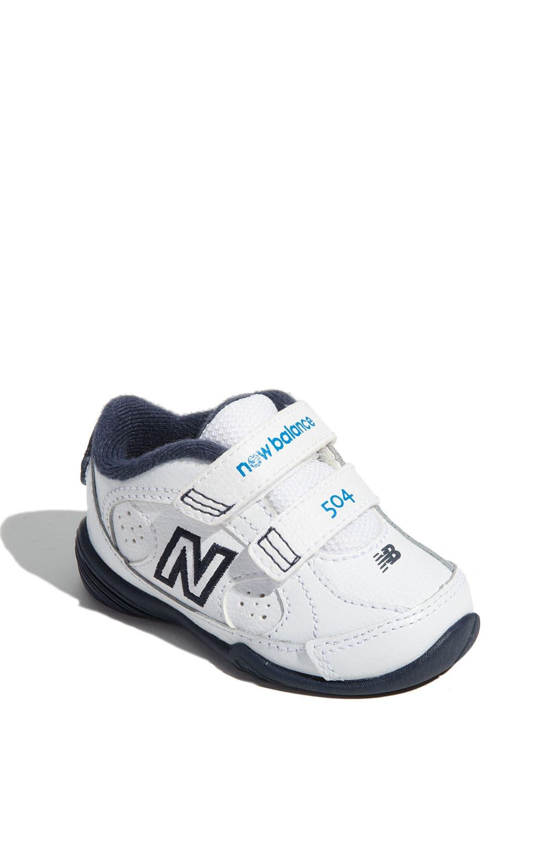 Alternate Image 1 Selected - New Balance '504' Sneaker (Baby, Walker & Toddler)