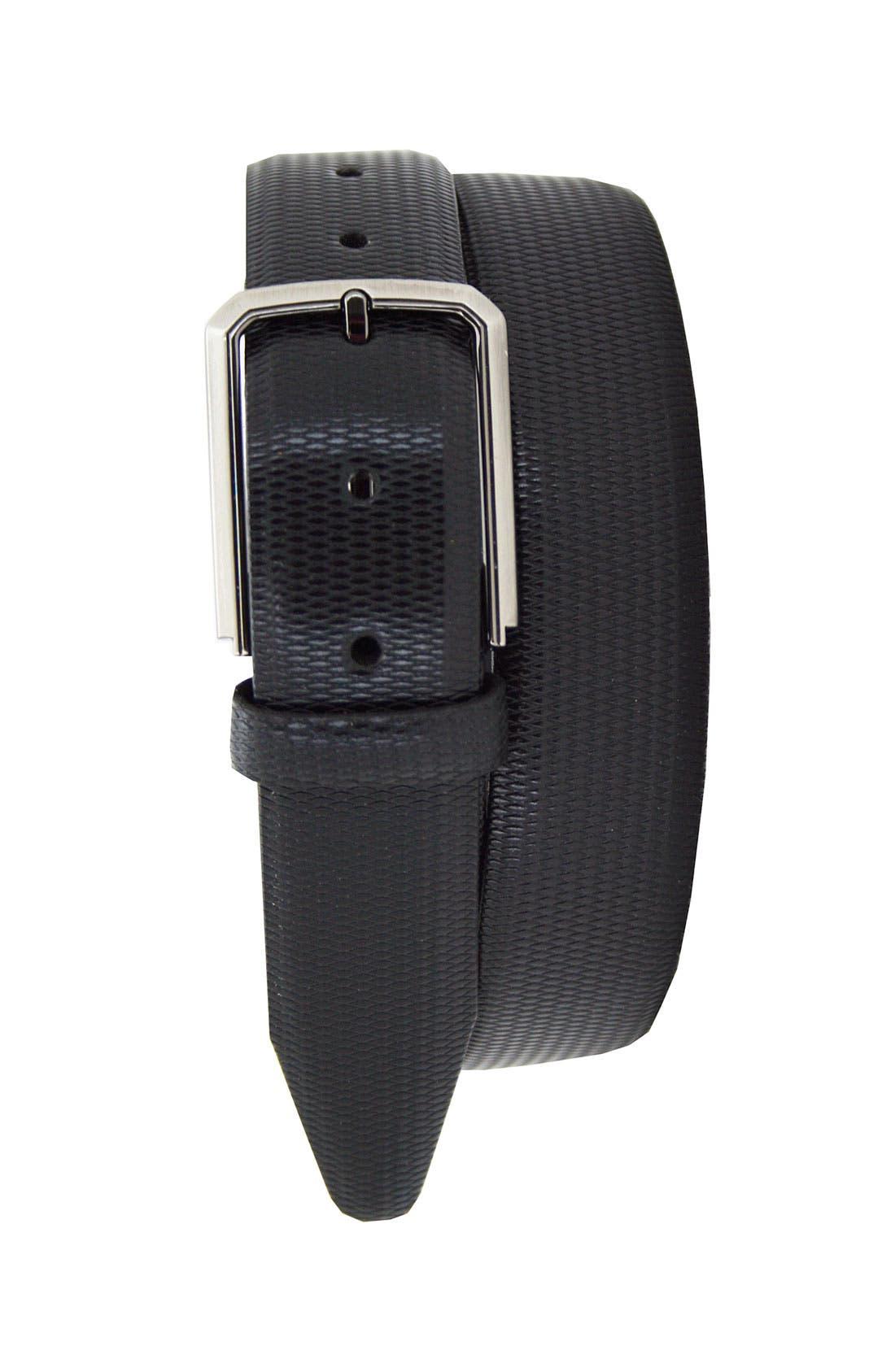 Alternate Image 1 Selected - Remo Tulliani 'Roberto' Embossed Leather Belt