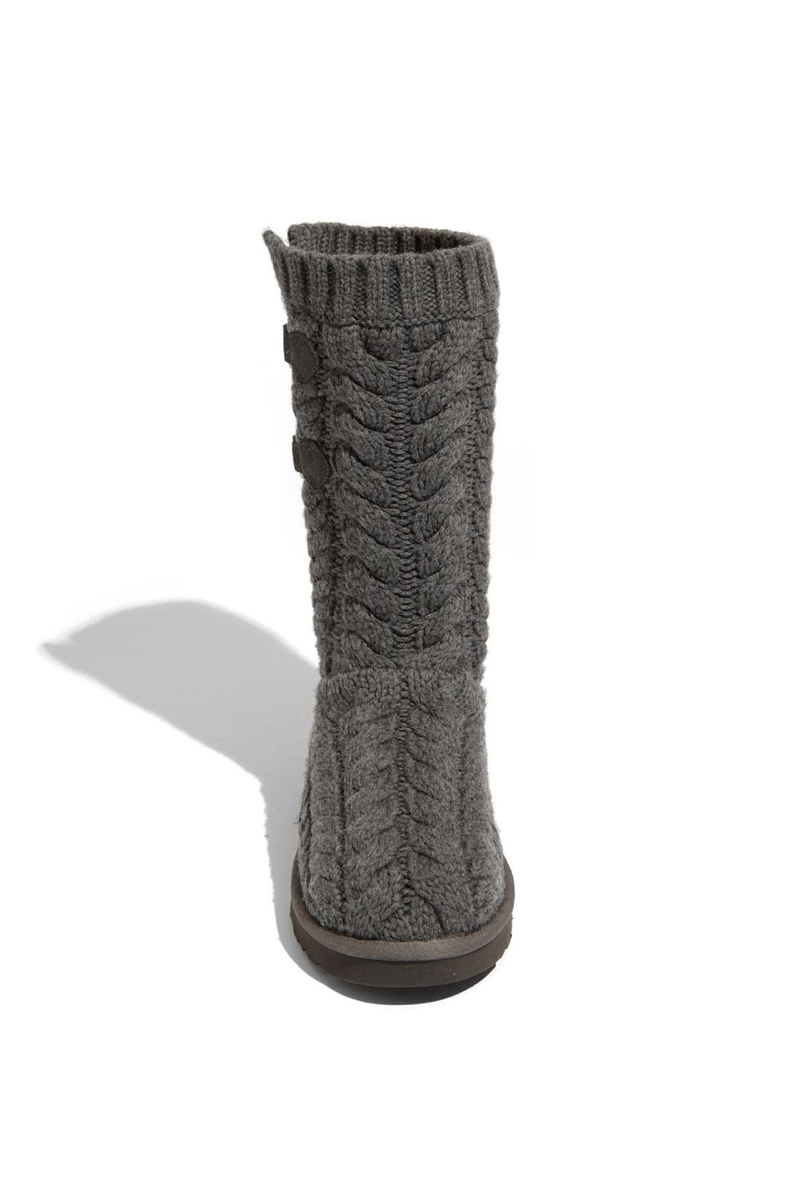 Alternate Image 3  - UGG® Australia 'Tularosa Route Cable' Boot (Women)
