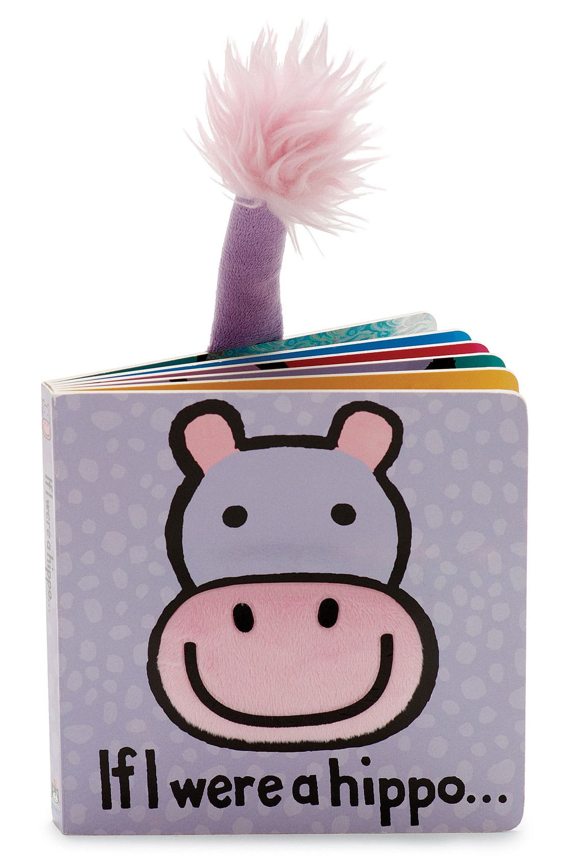 Alternate Image 1 Selected - 'If I Were a Hippo' Board Book