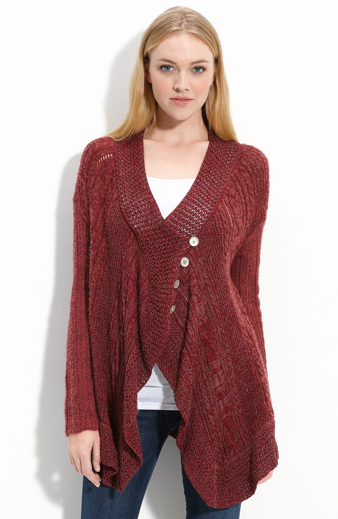 Alternate Image 1 Selected - Free People Trapeze Cardigan