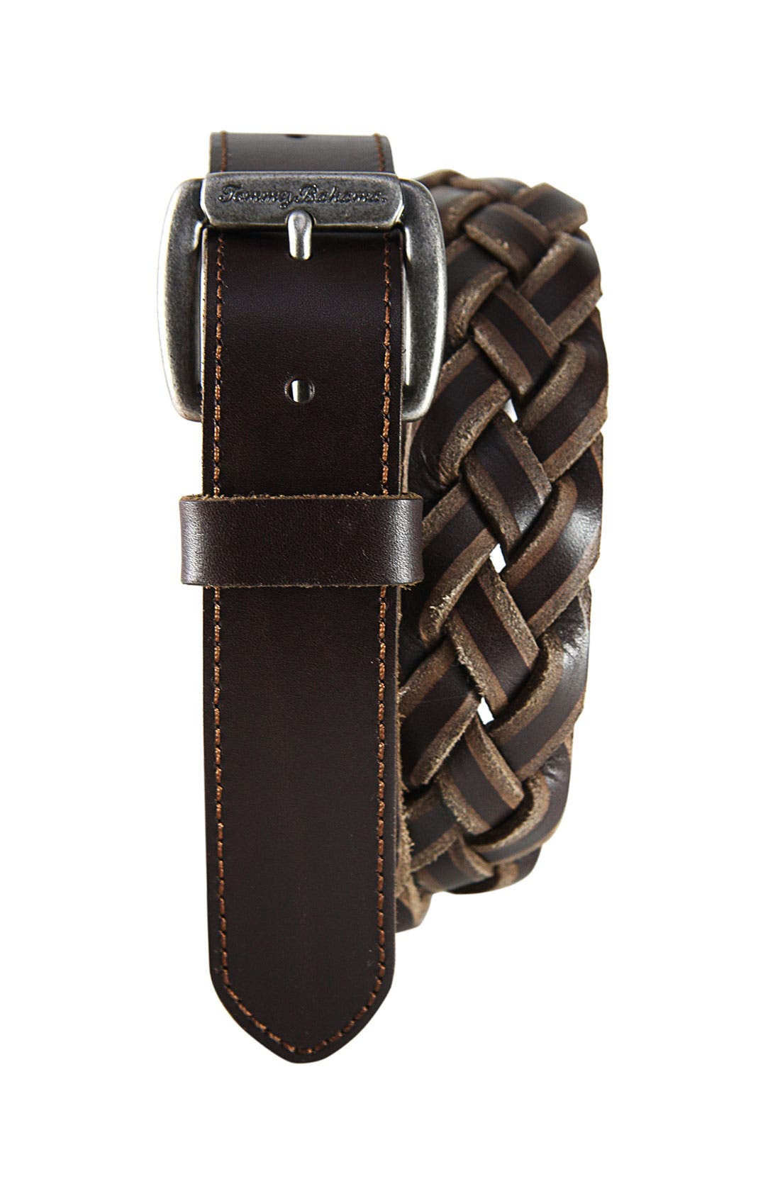 Alternate Image 1 Selected - Tommy Bahama 'North Beach' Leather Belt