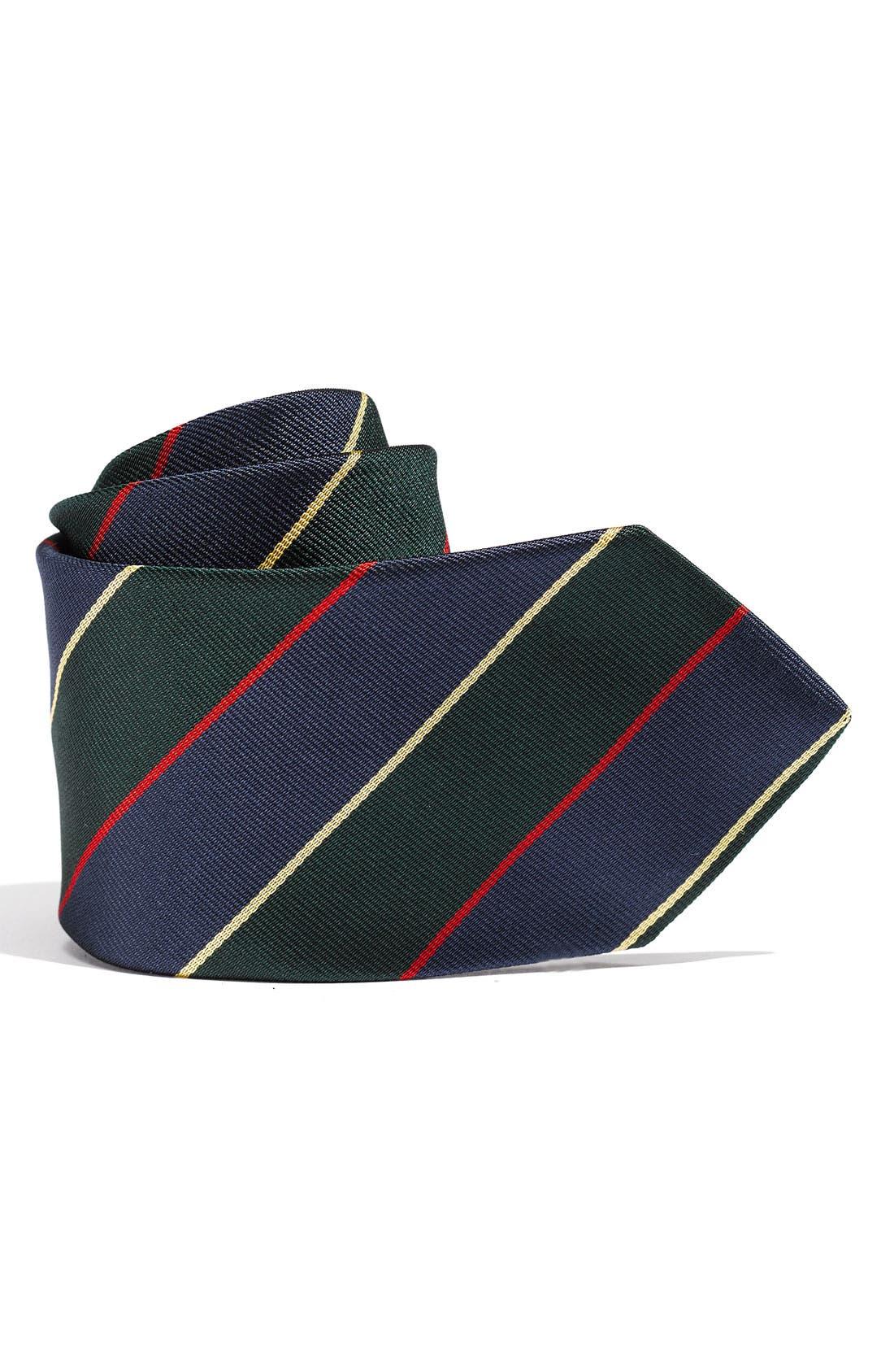 Alternate Image 1 Selected - Brooks Brothers 'Multi Stripe' Tie (Big Boys)